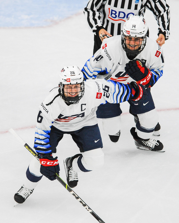 United States v Switzerland: Group A - 2021 IIHF Women's World Championship