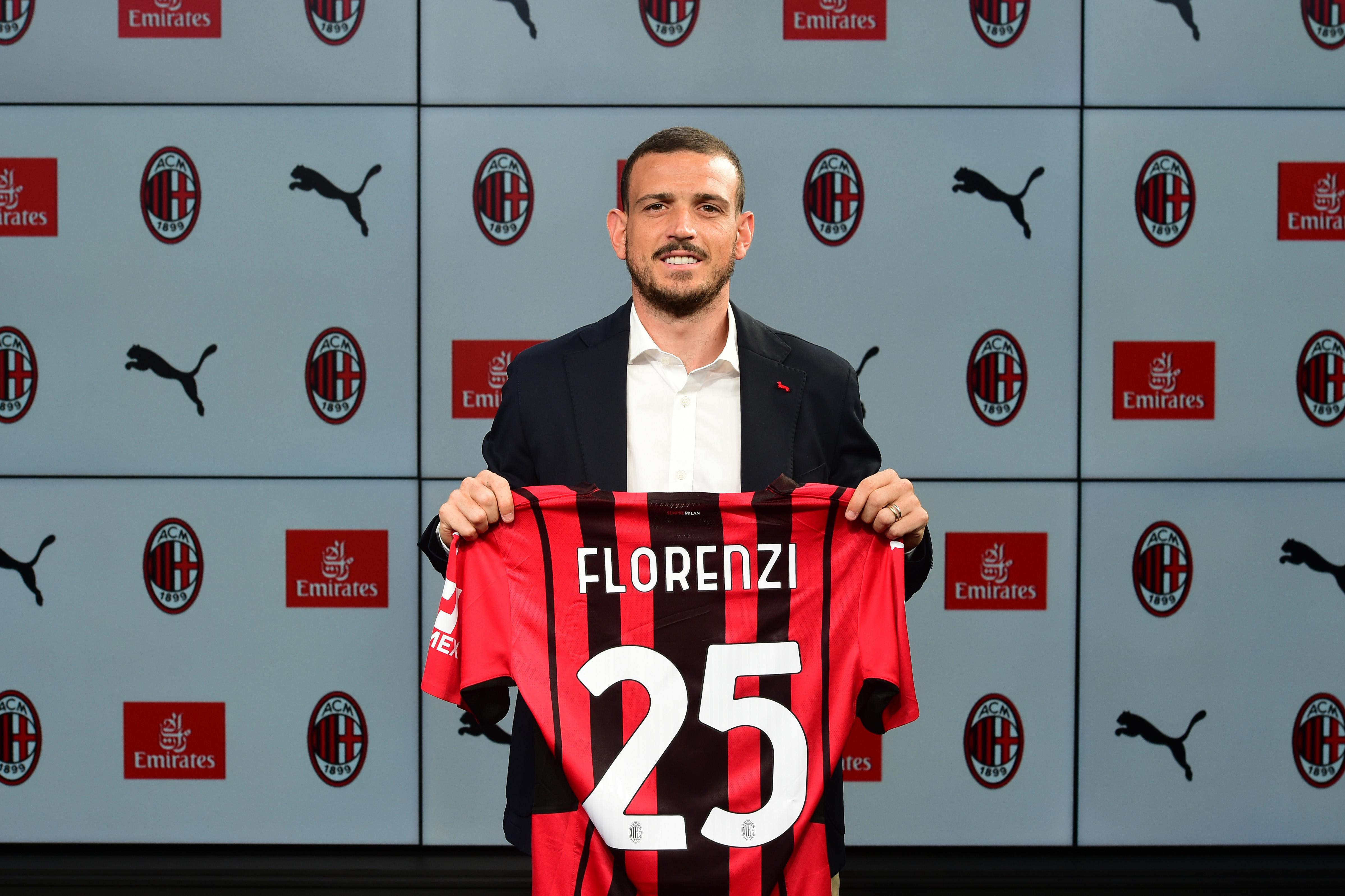 AC Milan Unveil New Signing Alessandro Florenzi