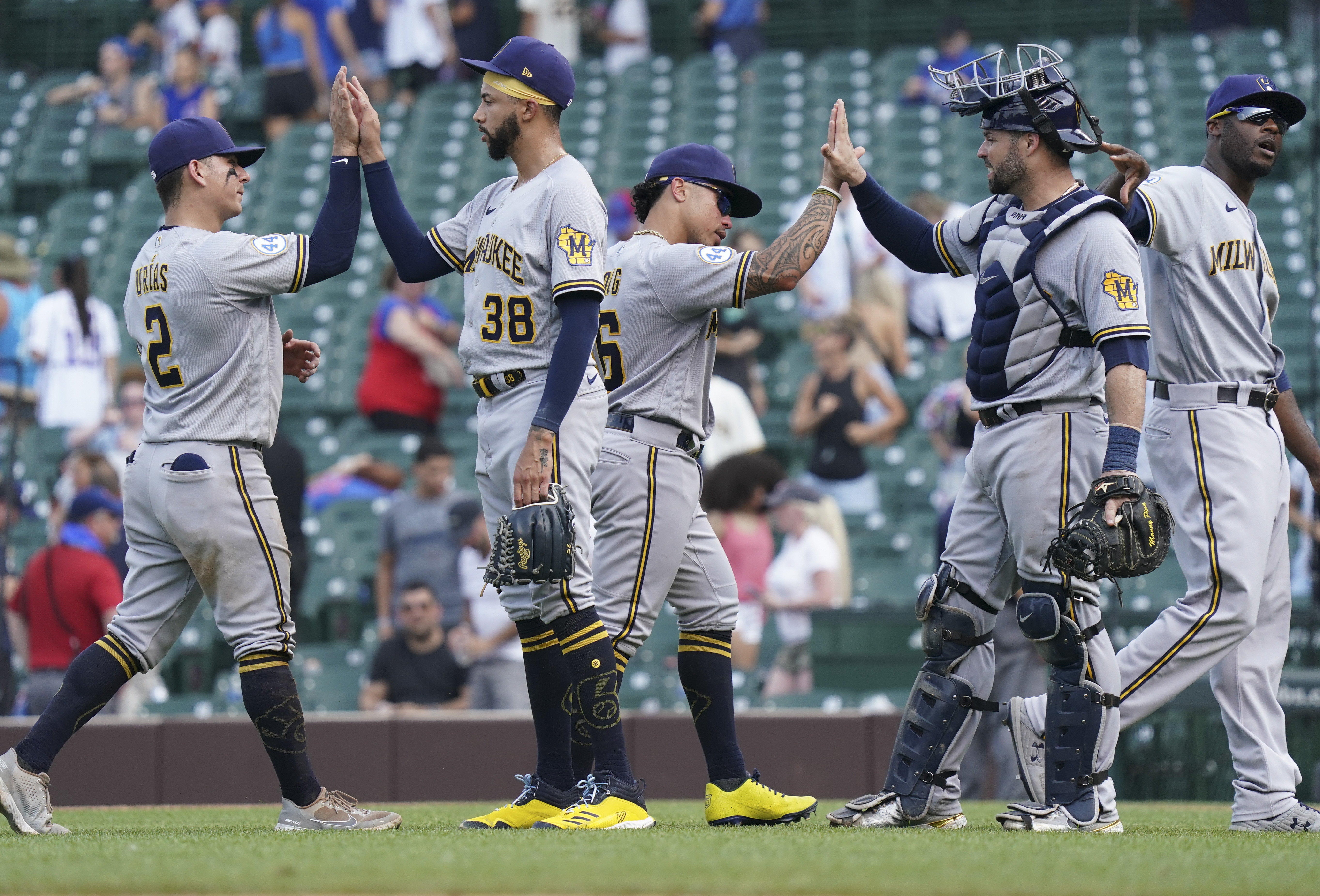 Milwaukee Brewers v Chicago Cubs - Game One