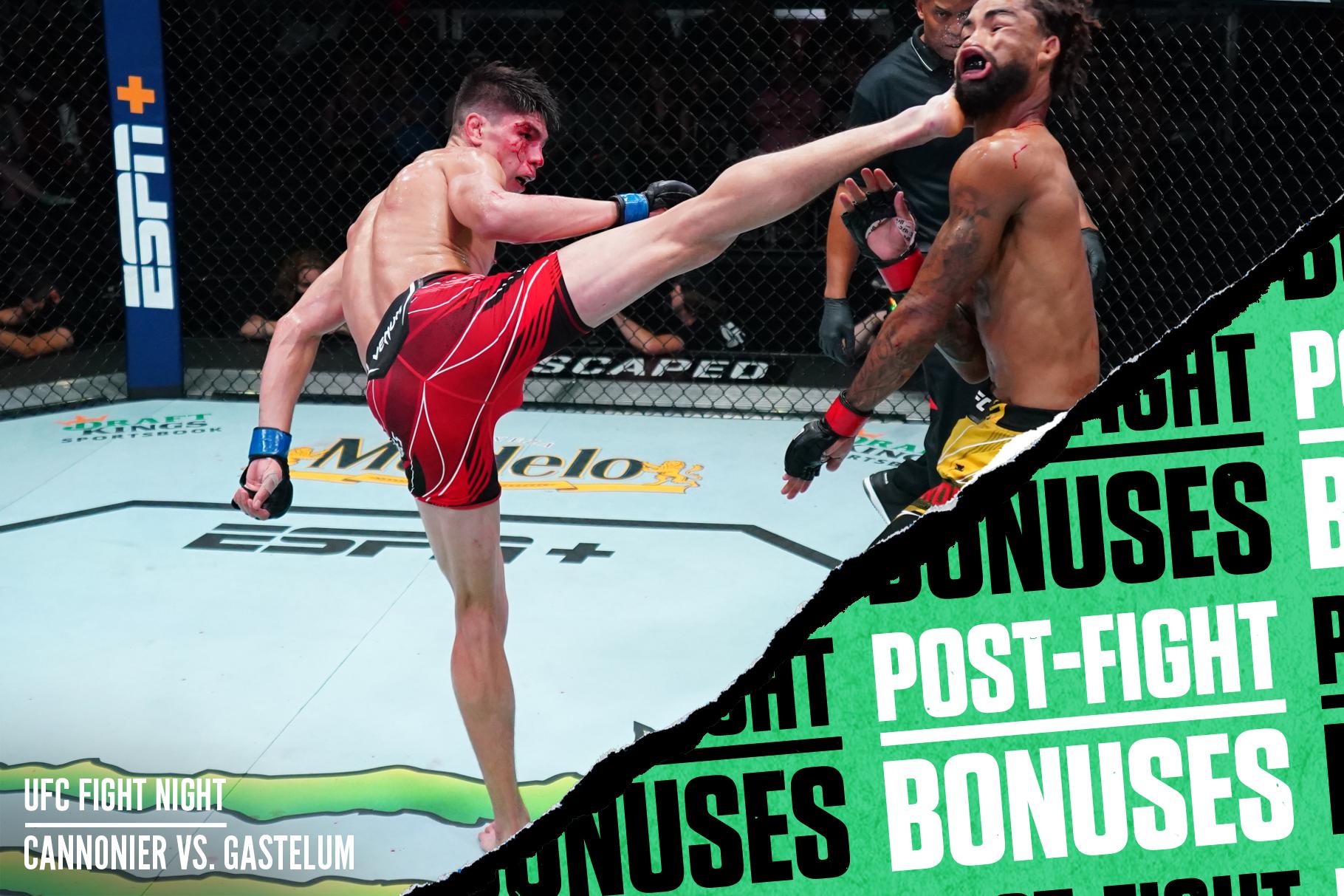 Iganacio Bahamondes KOs Roosevelt Roberts at UFC Vegas 34