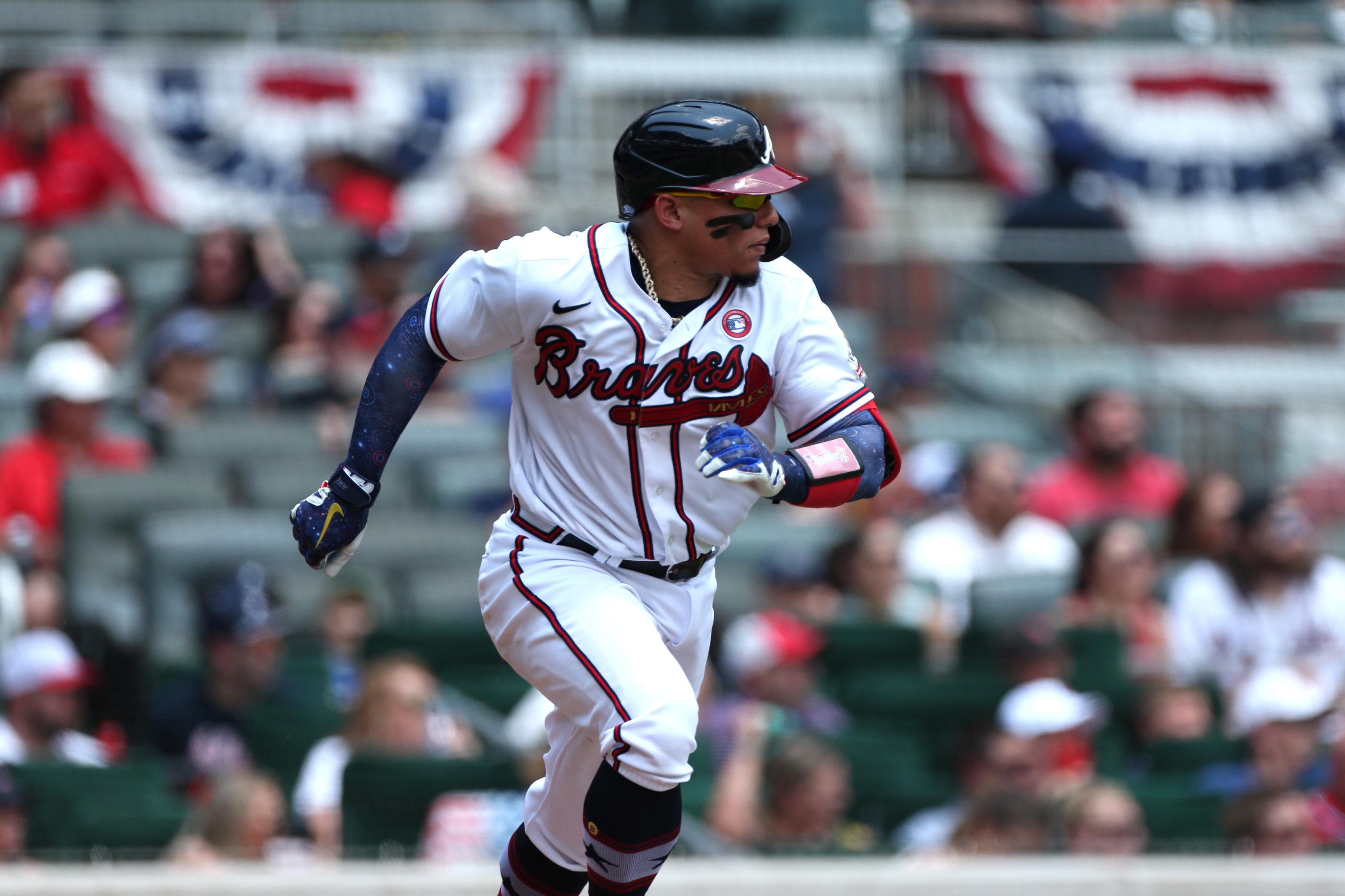 MLB: JUL 04 Marlins at Braves
