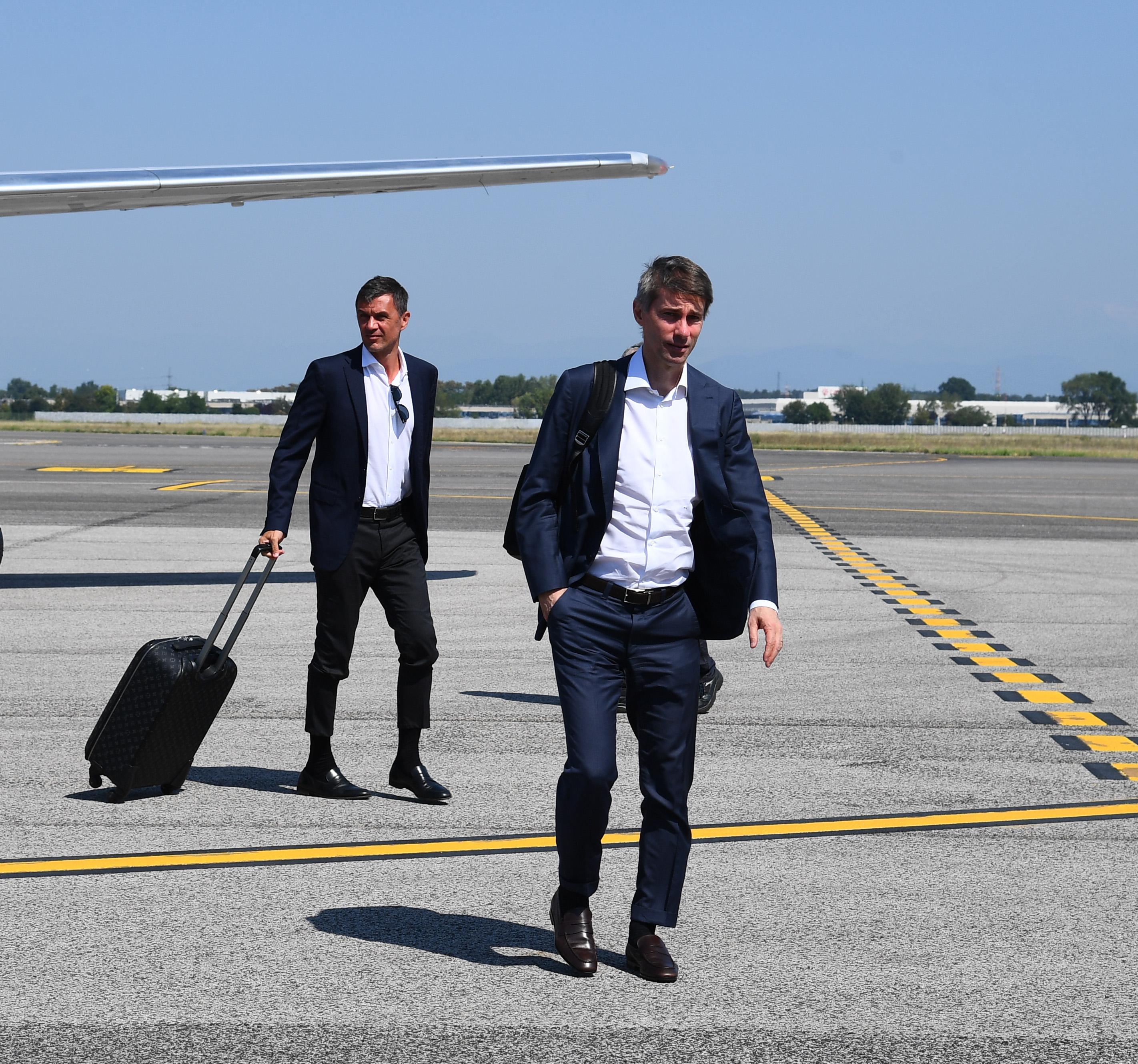AC Milan Travel To Trieste