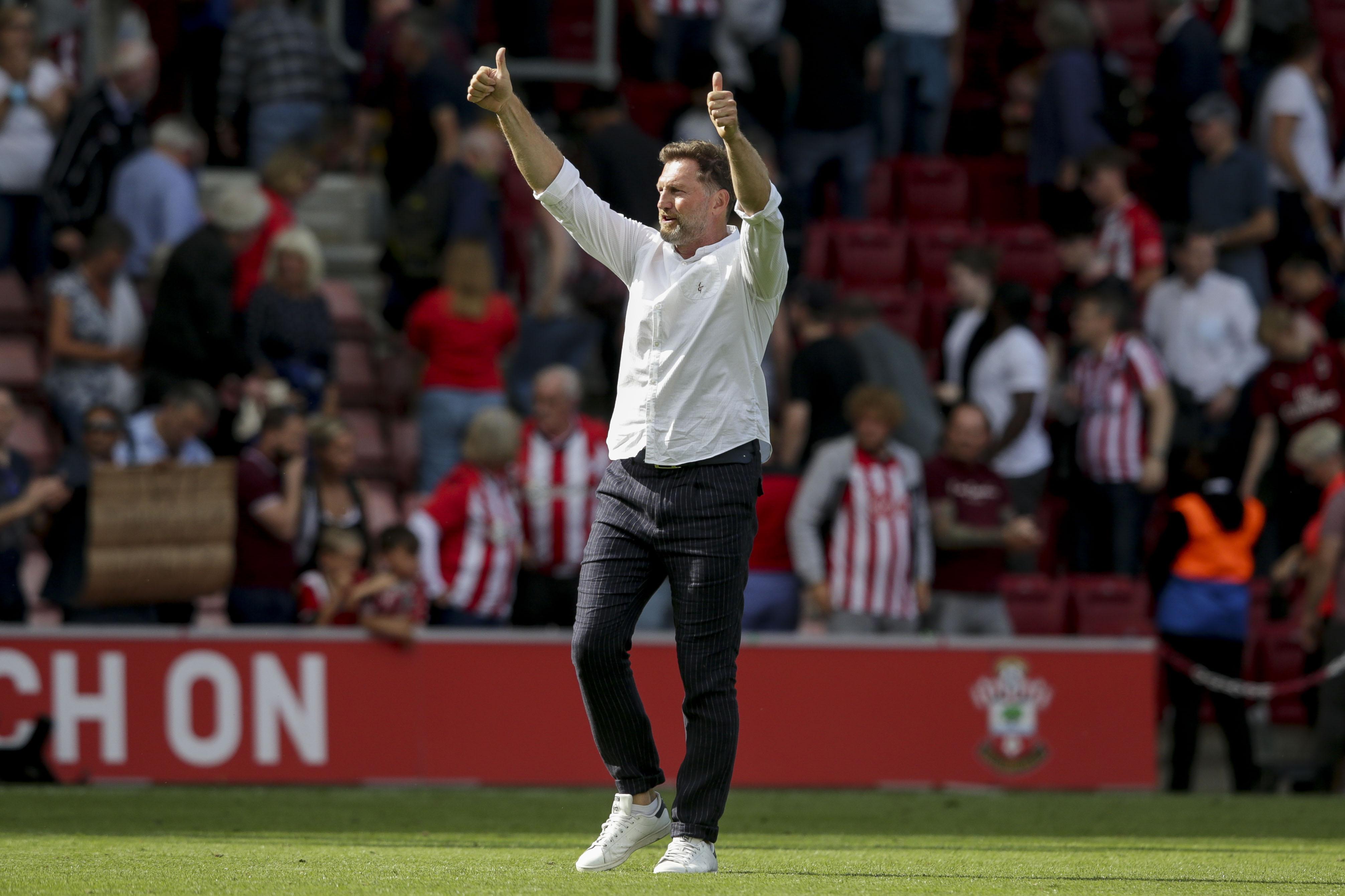 Southampton v Manchester United - Premier League, Ralph Hasenhuttl interview, Saints news