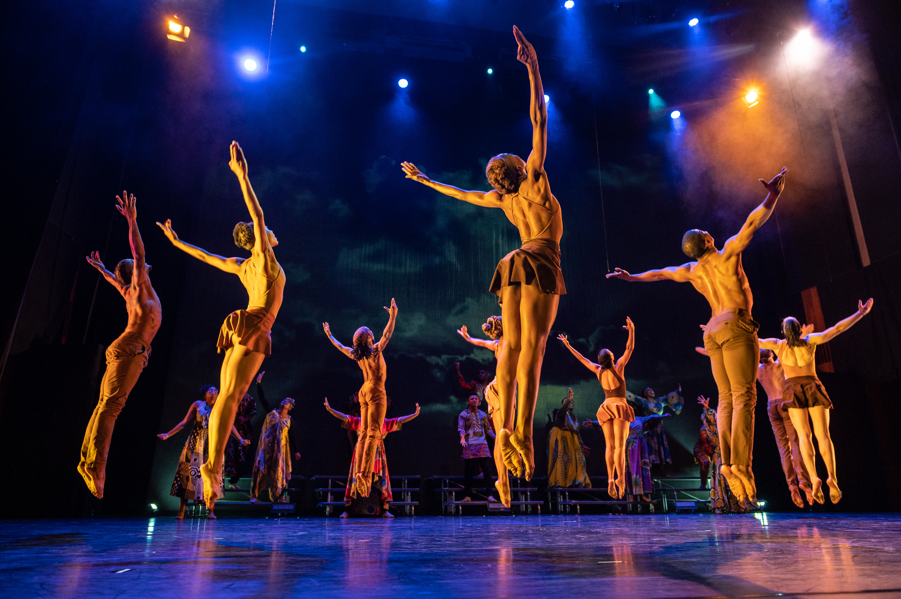 """Deeply Rooted Dance Theater is shown in a movement from """"Goshen."""""""