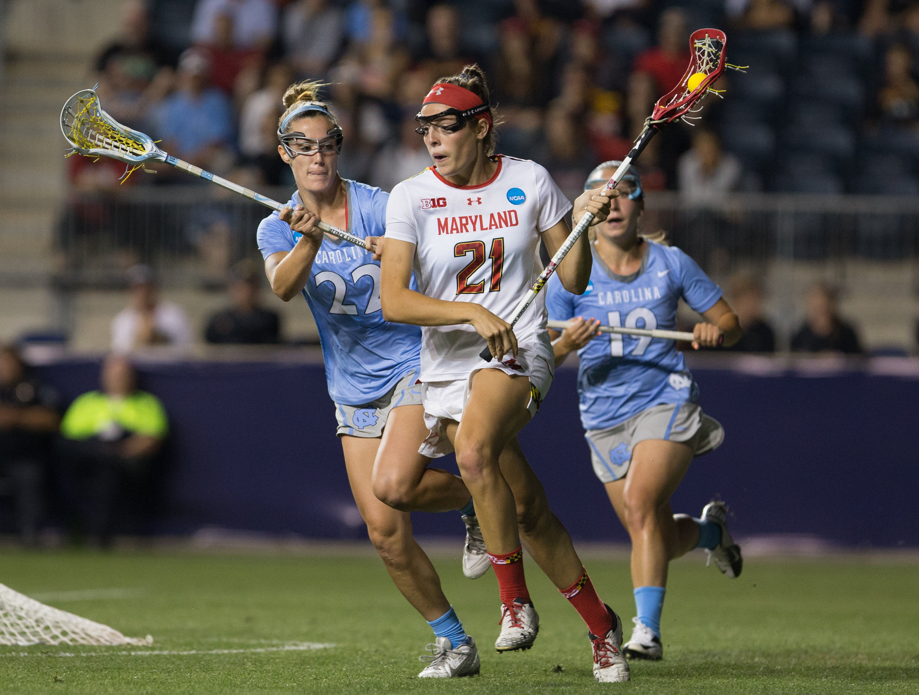 Maryland women's lacrosse will honor Taylor Cummings and five other seniors on Saturday. The Terps are 40-0 at home during their time in College Park.
