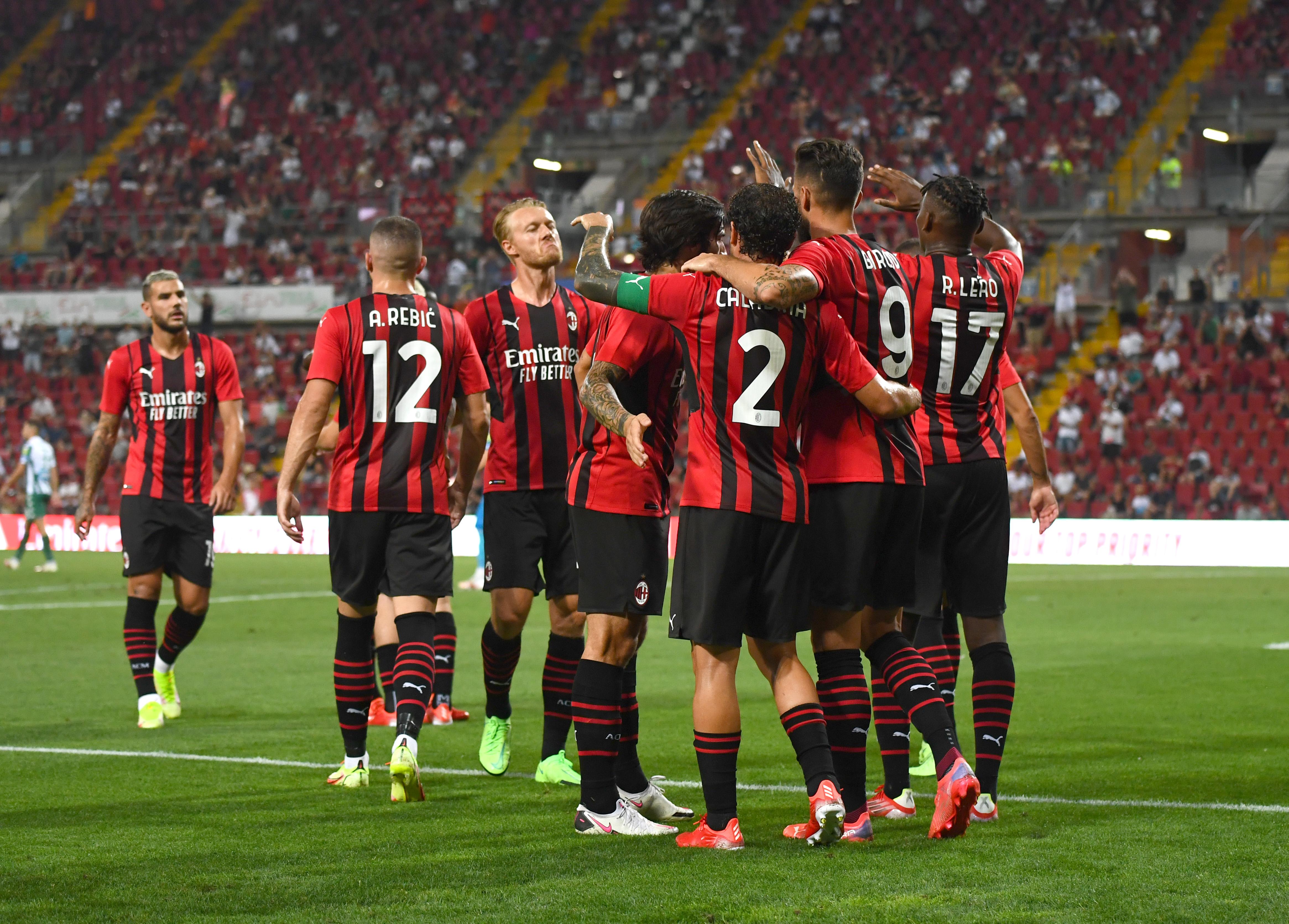 AC Milan v Panathinaikos - Pre-Season Friendly