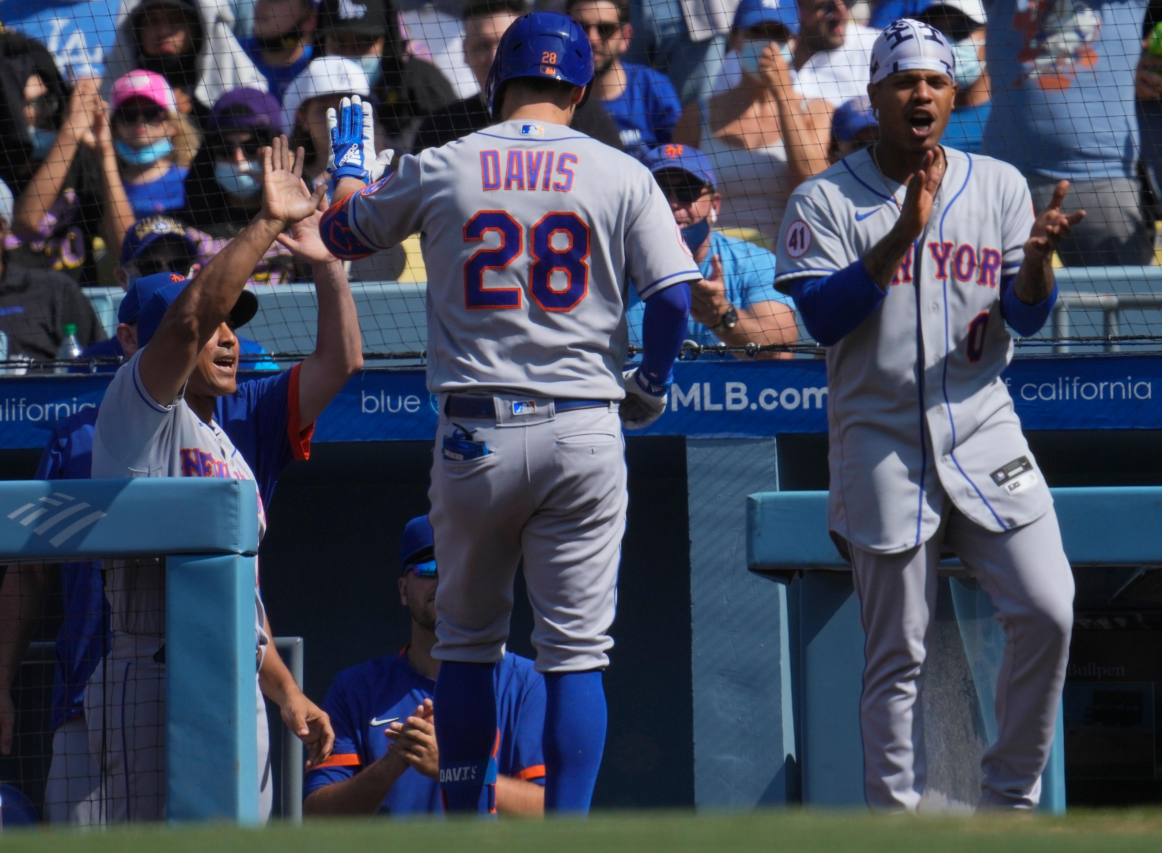 MLB: New York Mets at Los Angeles Dodgers