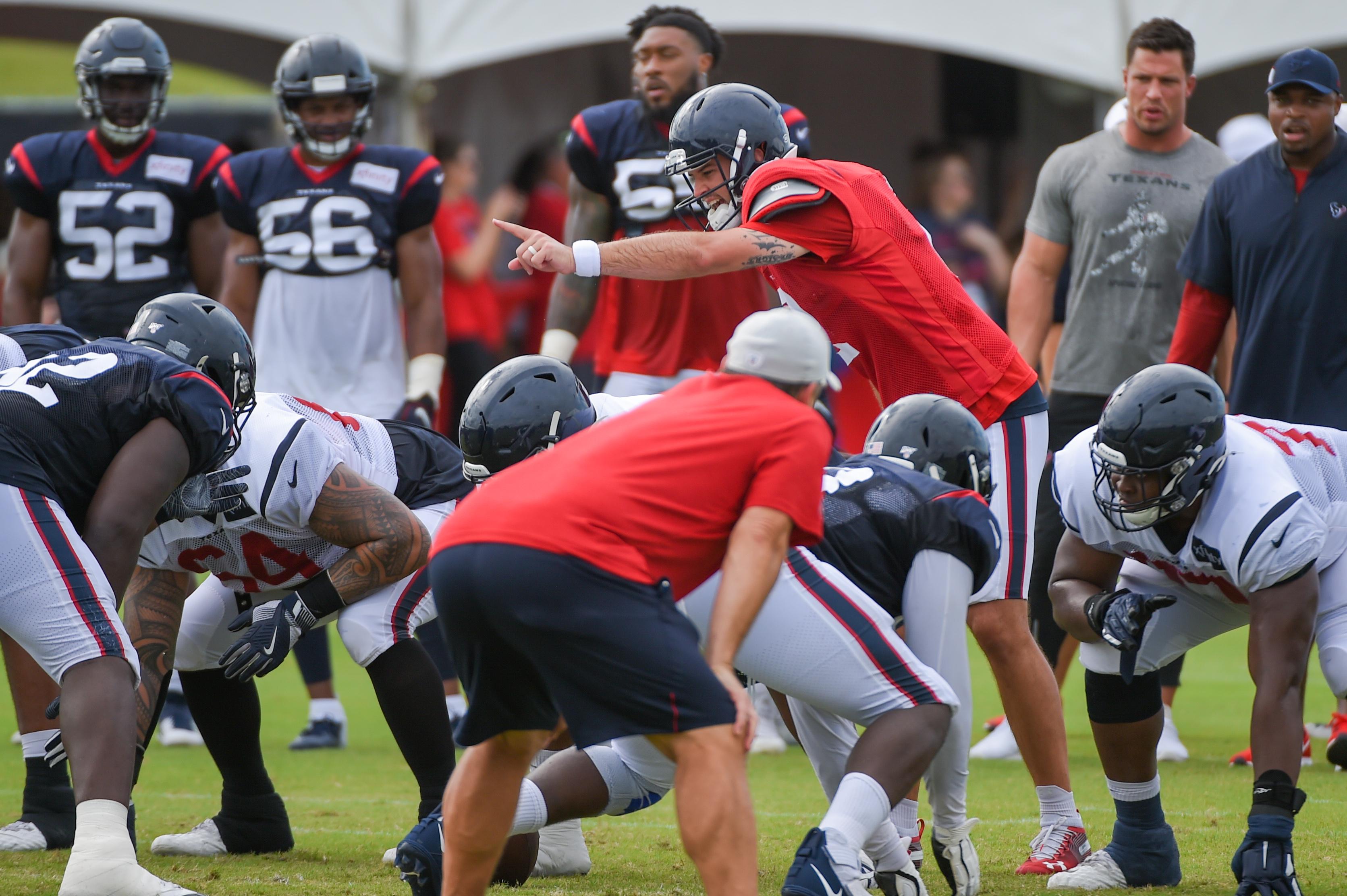 NFL: AUG 03 Texans Training Camp
