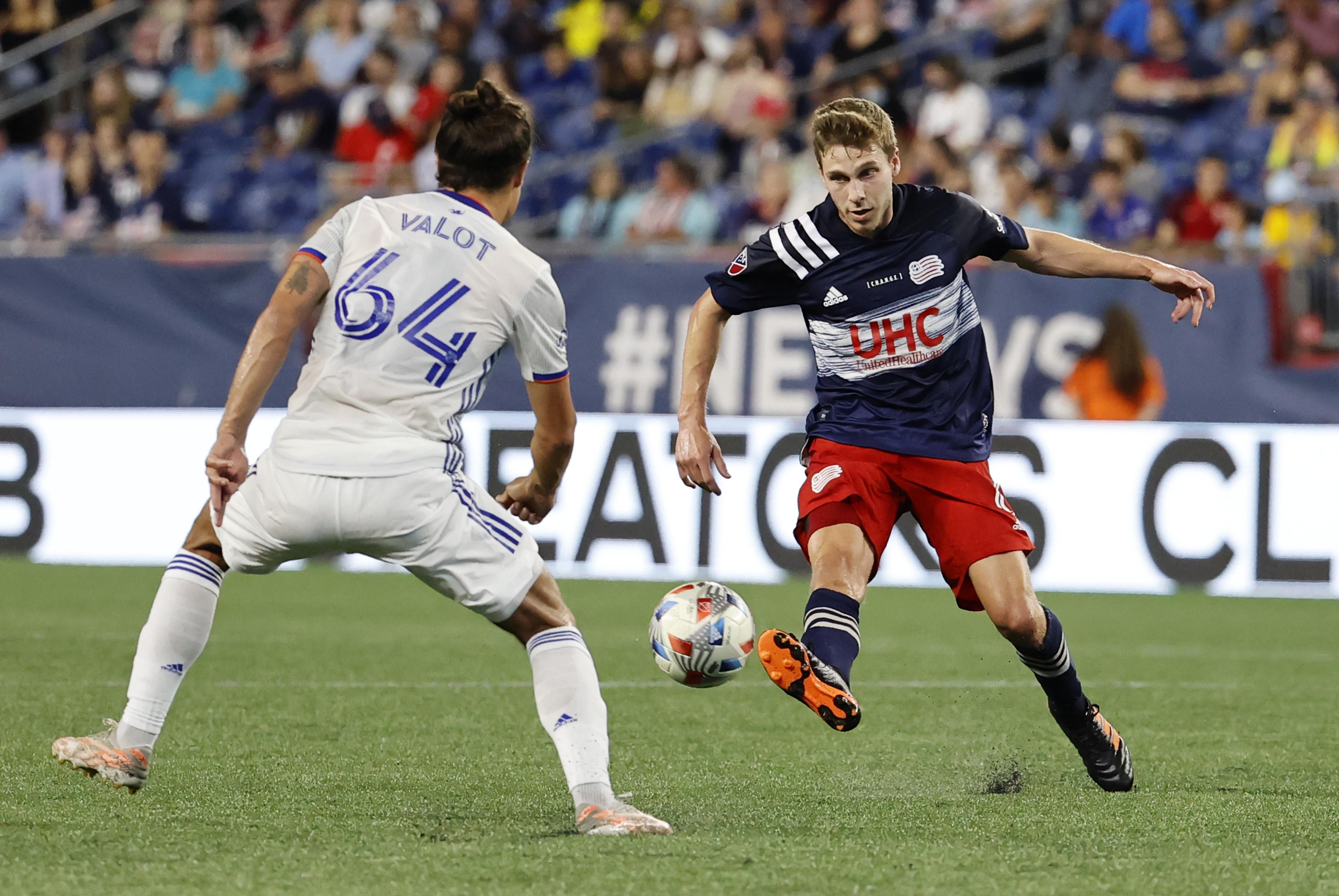 SOCCER: AUG 21 MLS - FC Cincinnati at New England Revolution