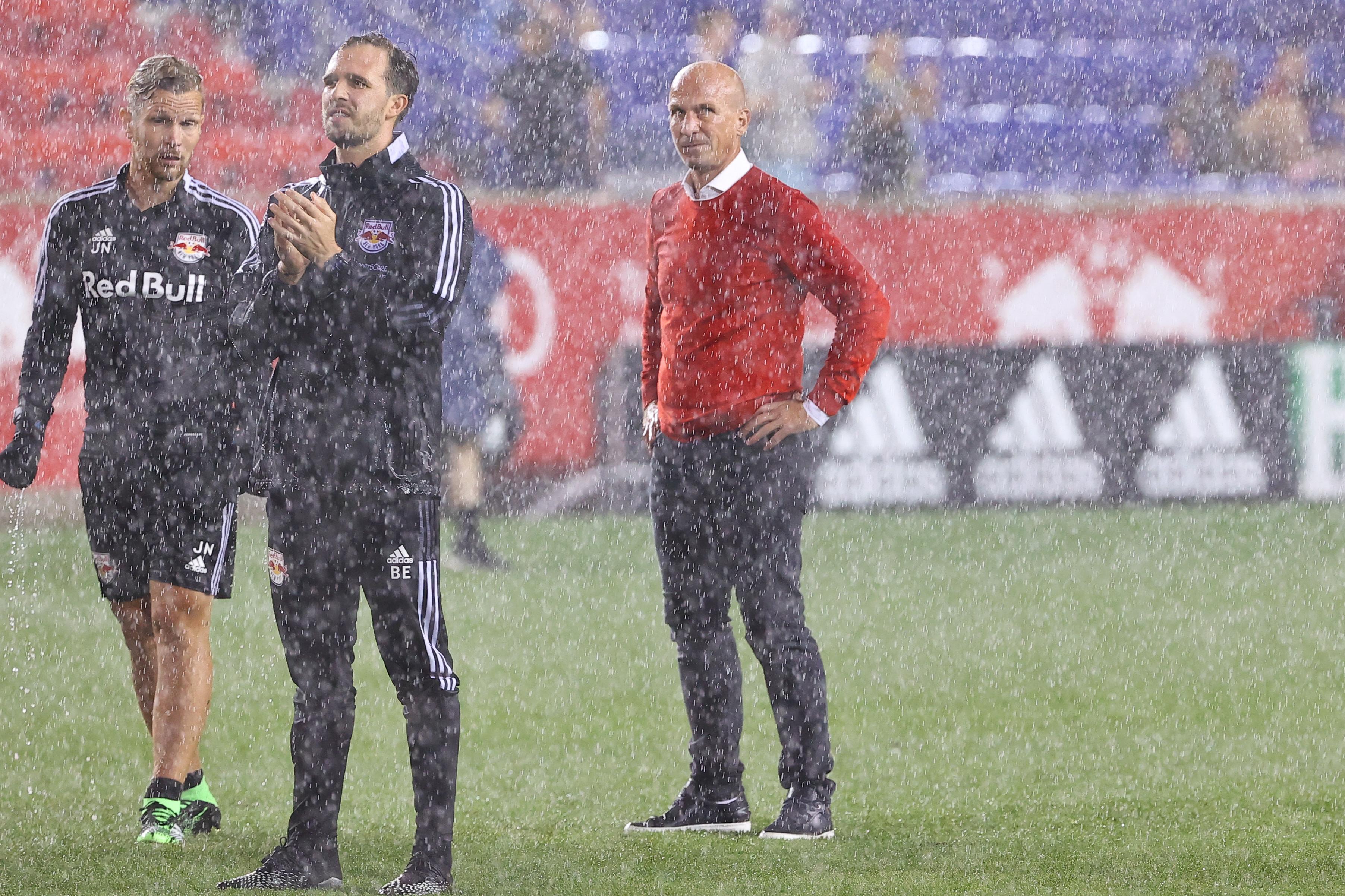 SOCCER: AUG 21 MLS - New York City FC at New York Red Bulls