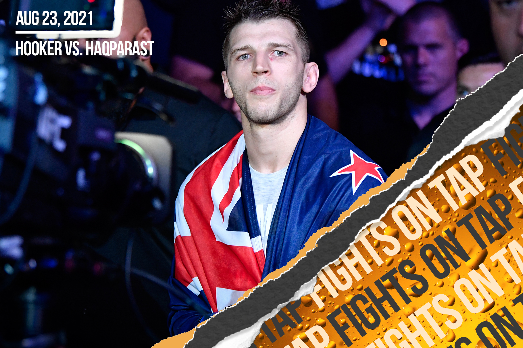 Fights on Tap: Dan Hooker vs. Nasrat Haqparast among 19 UFC fights announced