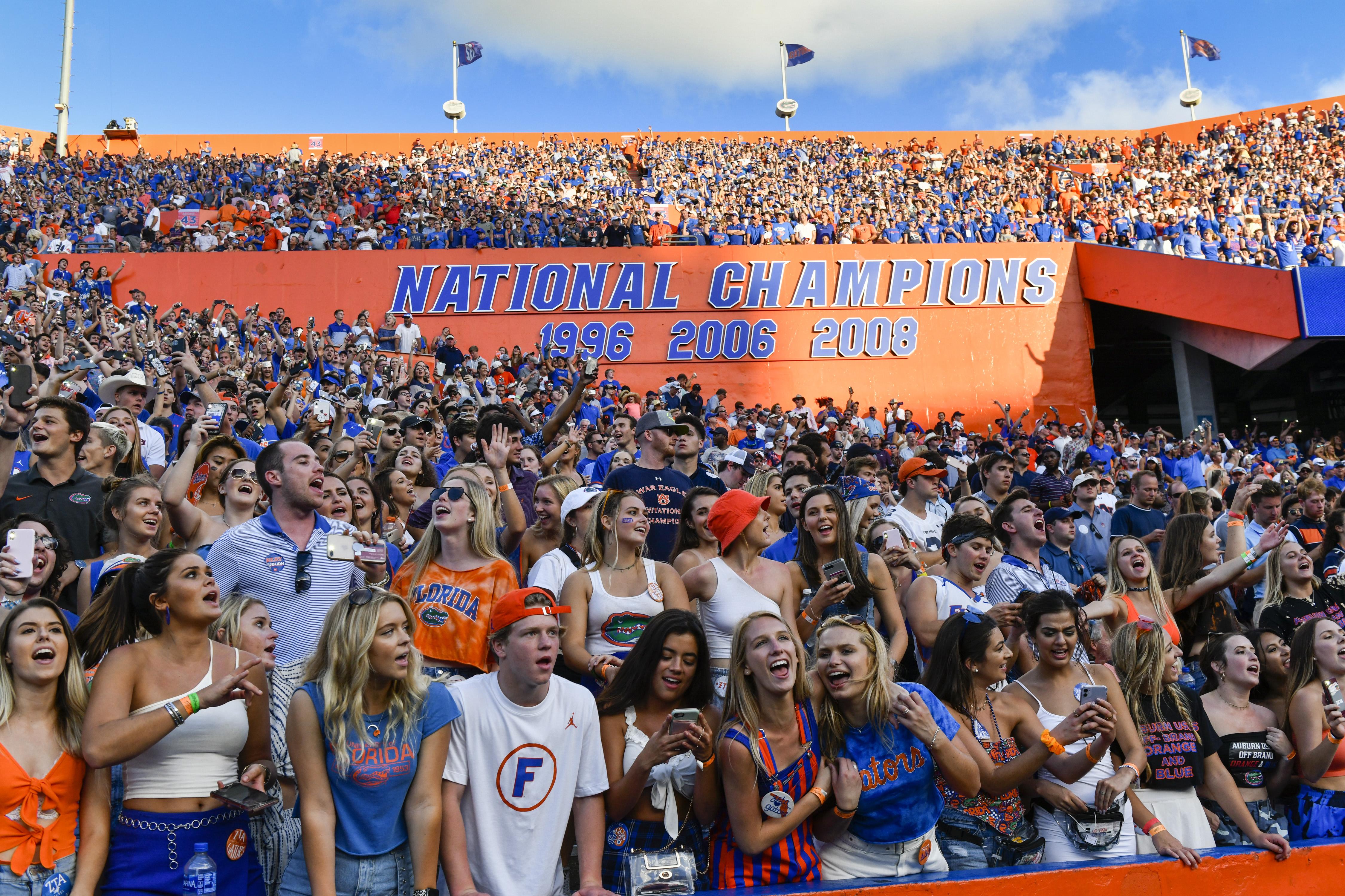 COLLEGE FOOTBALL: OCT 05 Auburn at Florida