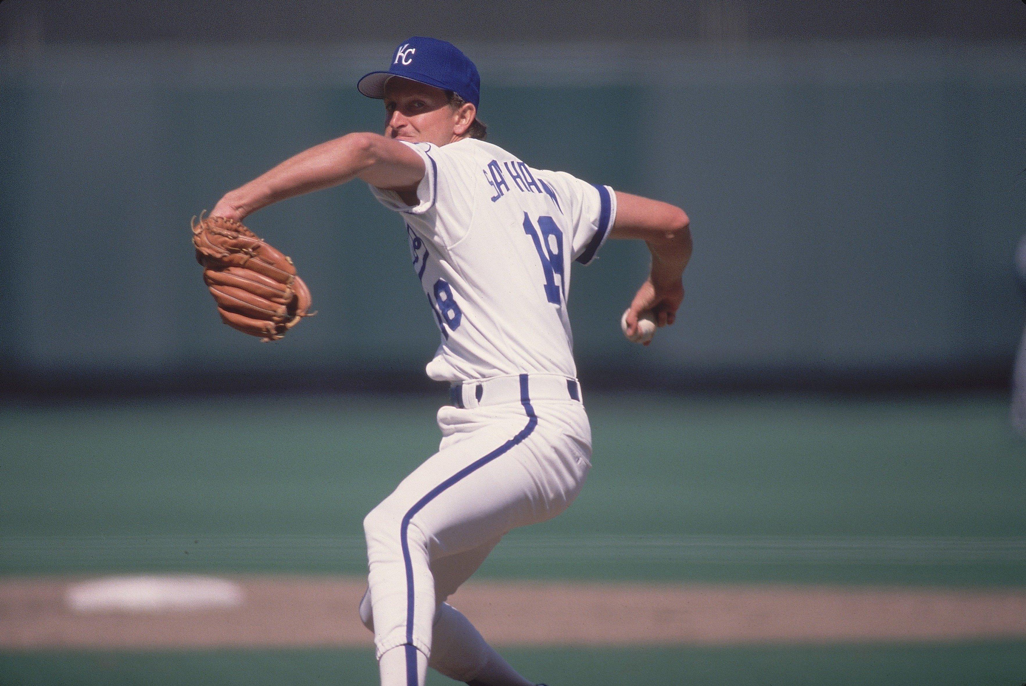Kansas City Royals Bret Saberhagen...