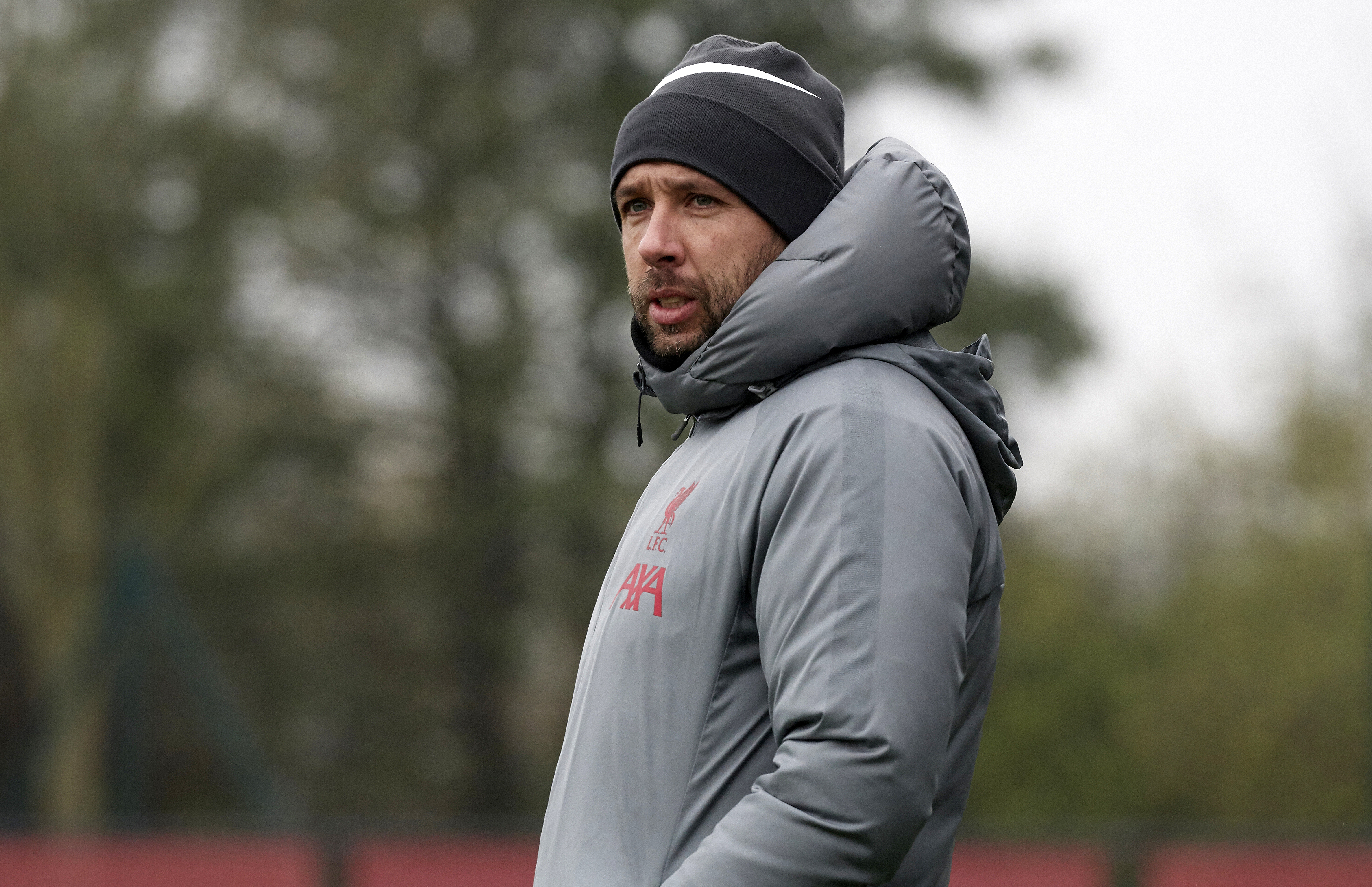 U23 manager Barry Lewtas of Liverpool