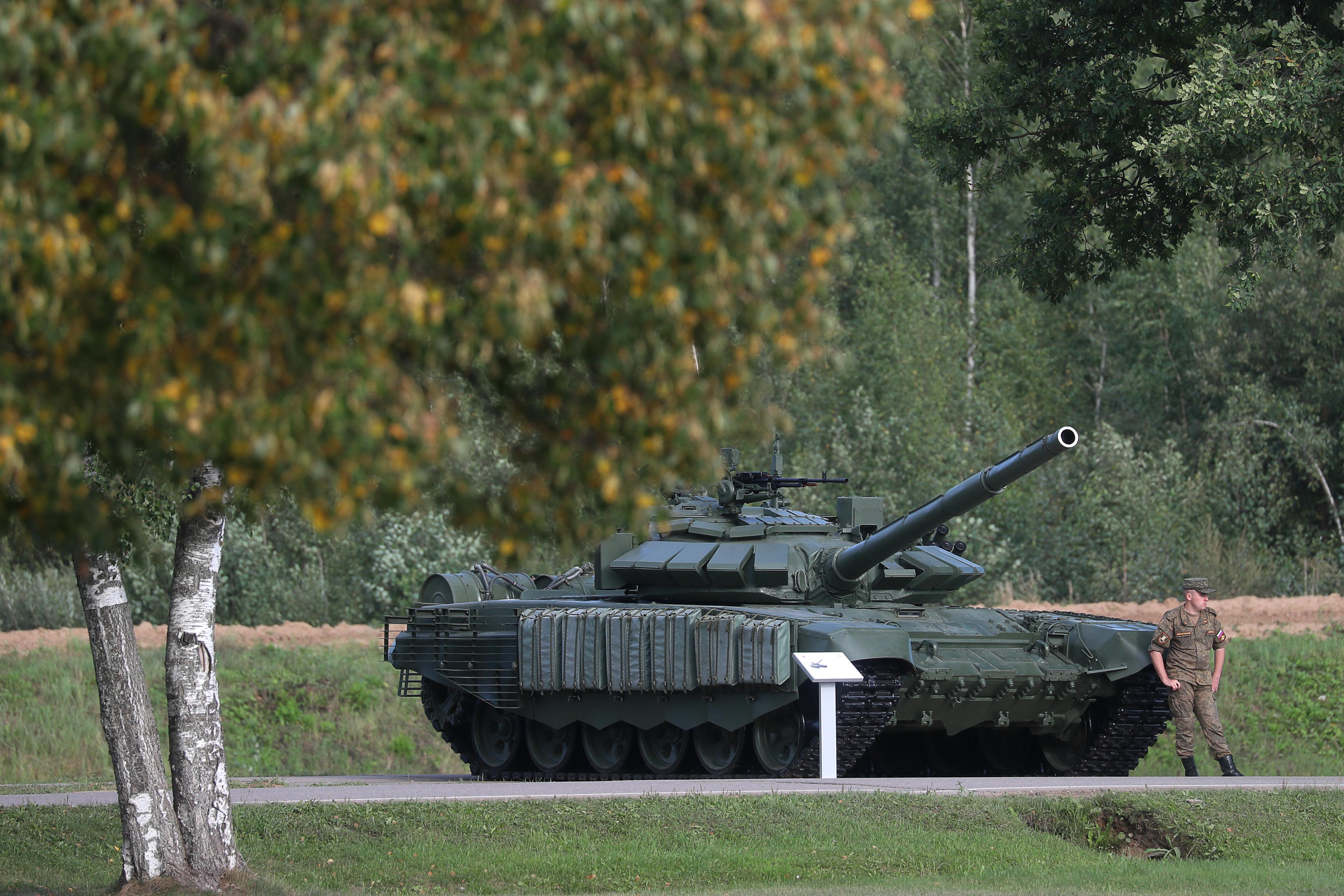 2021 International Army Games: tank biathlon