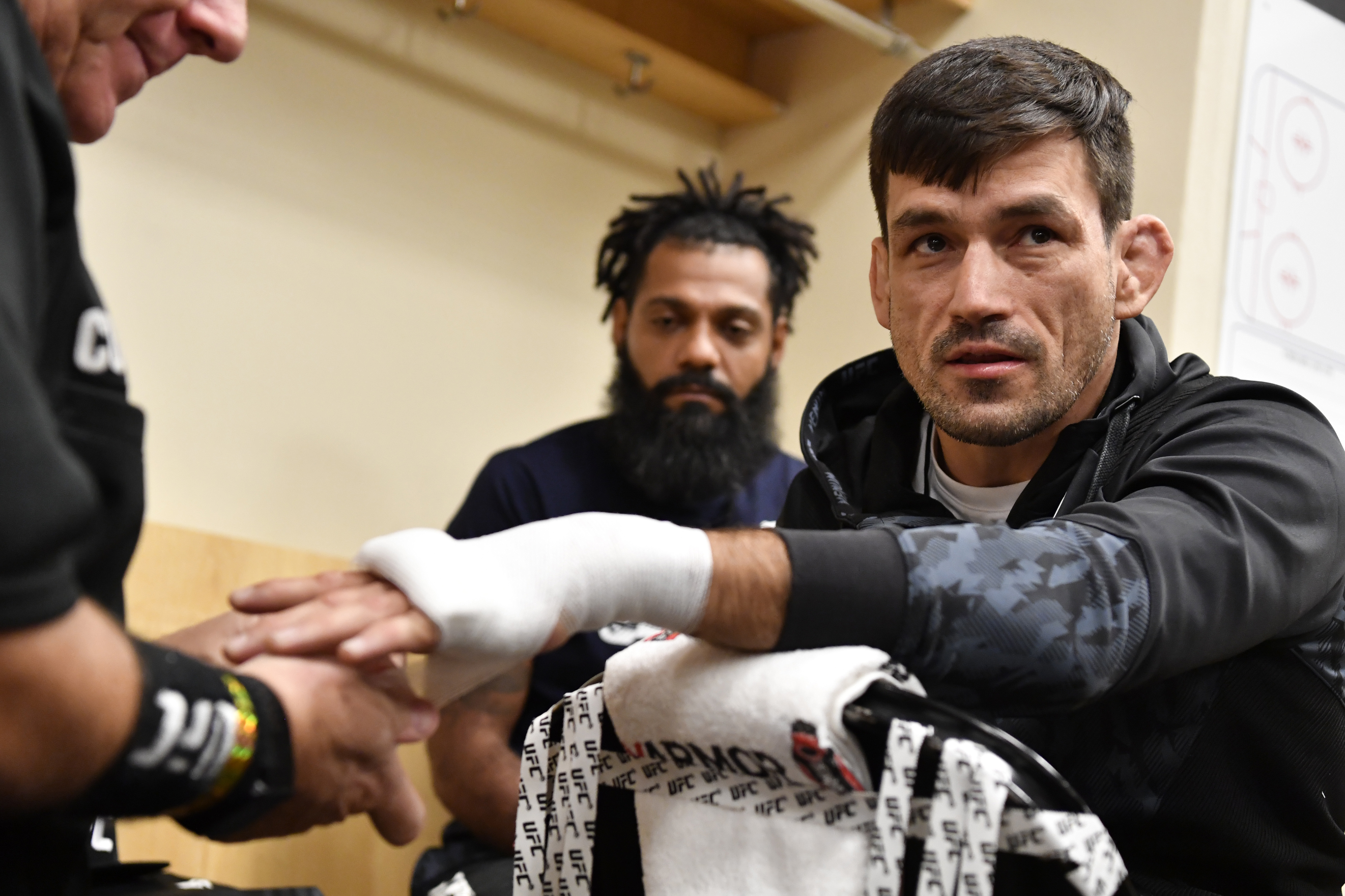 Maia prepares for his bout against Belal Muhammad at UFC 263 back in June.
