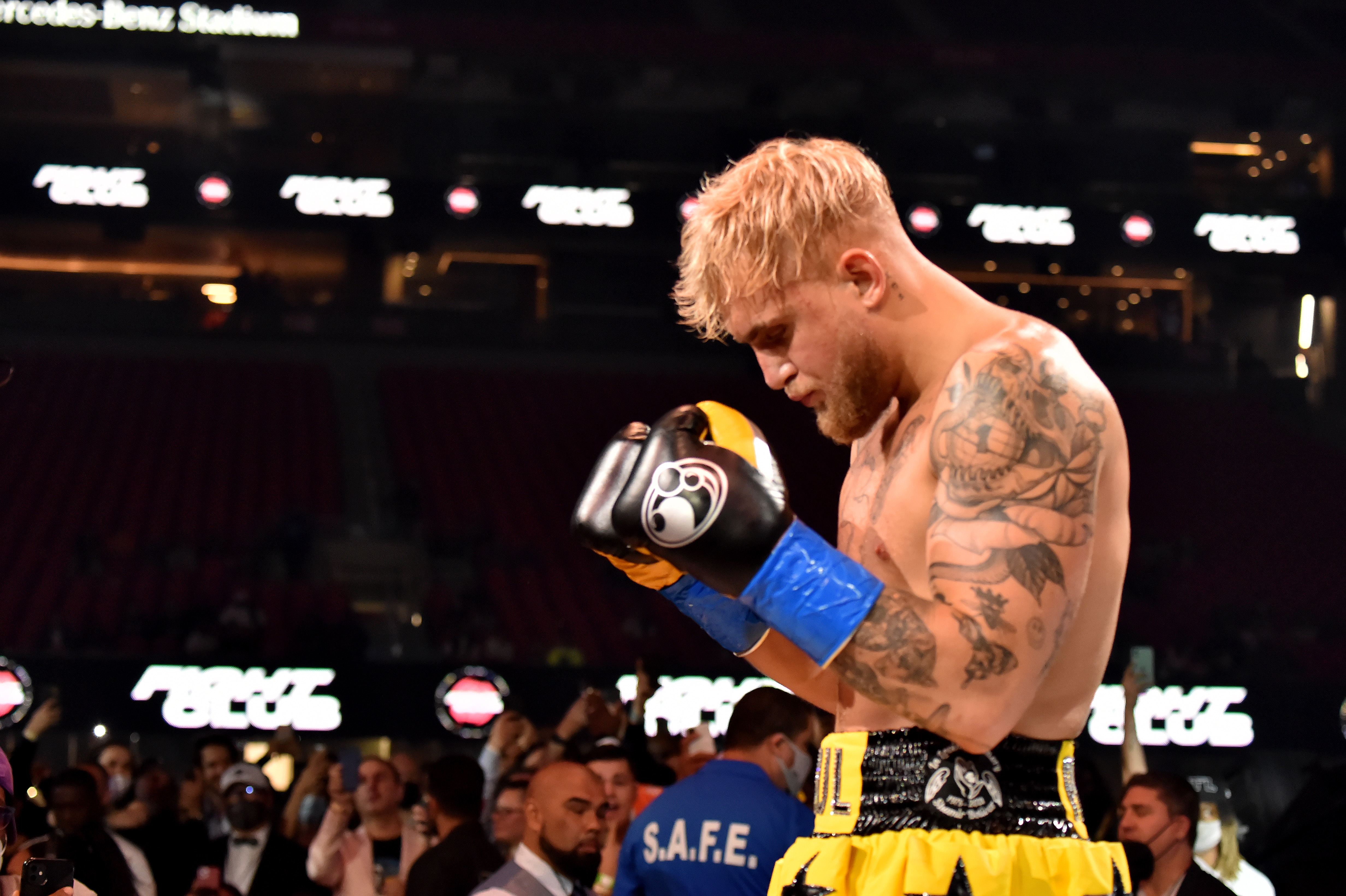 Jake Paul pays his sparring partner really well.