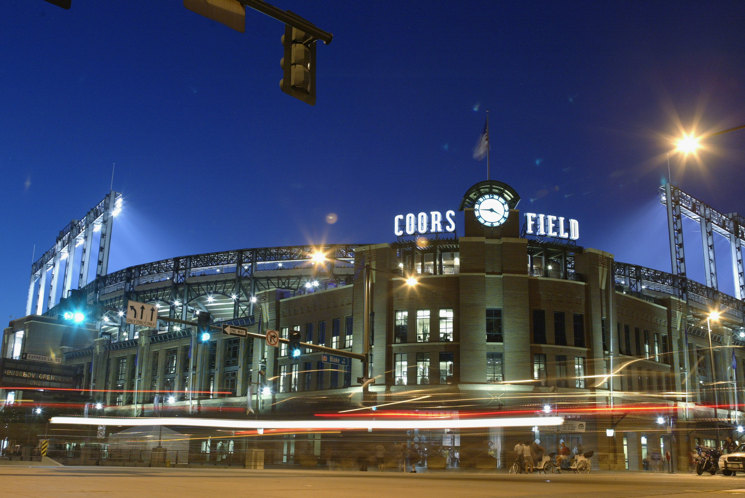 Coors Field front entrance