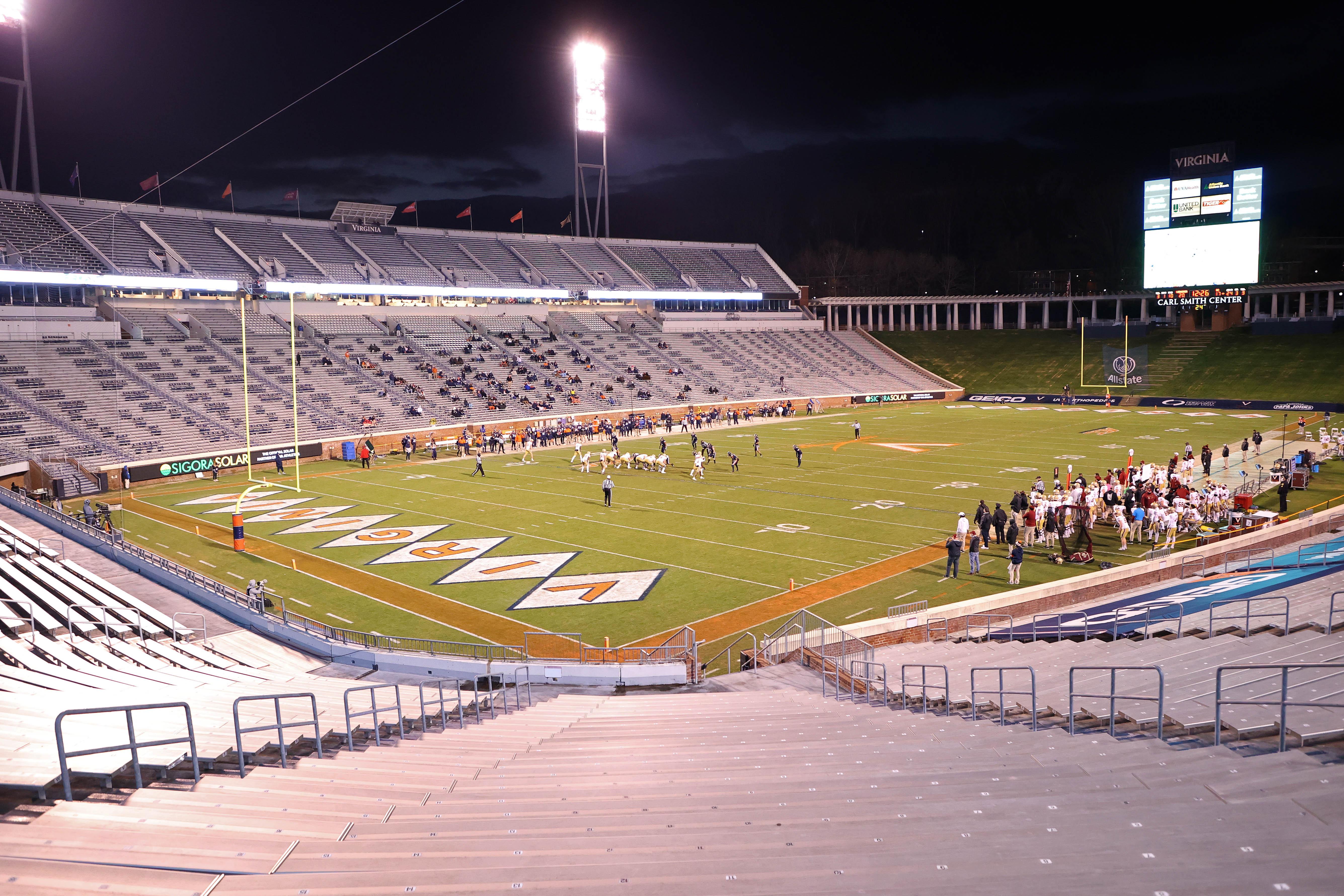 NCAA Football: Boston College at Virginia