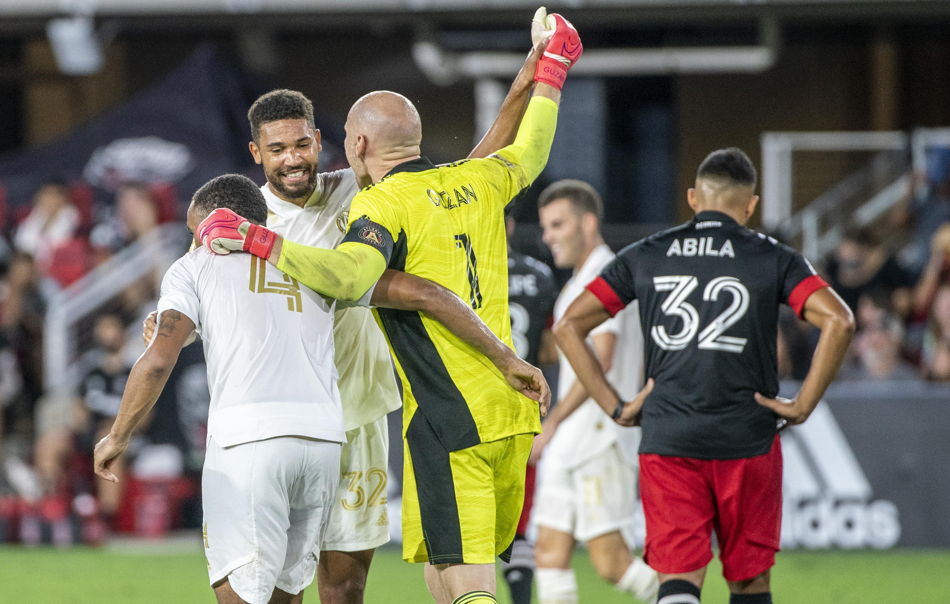 SOCCER: AUG 21 MLS - Atlanta United FC at DC United