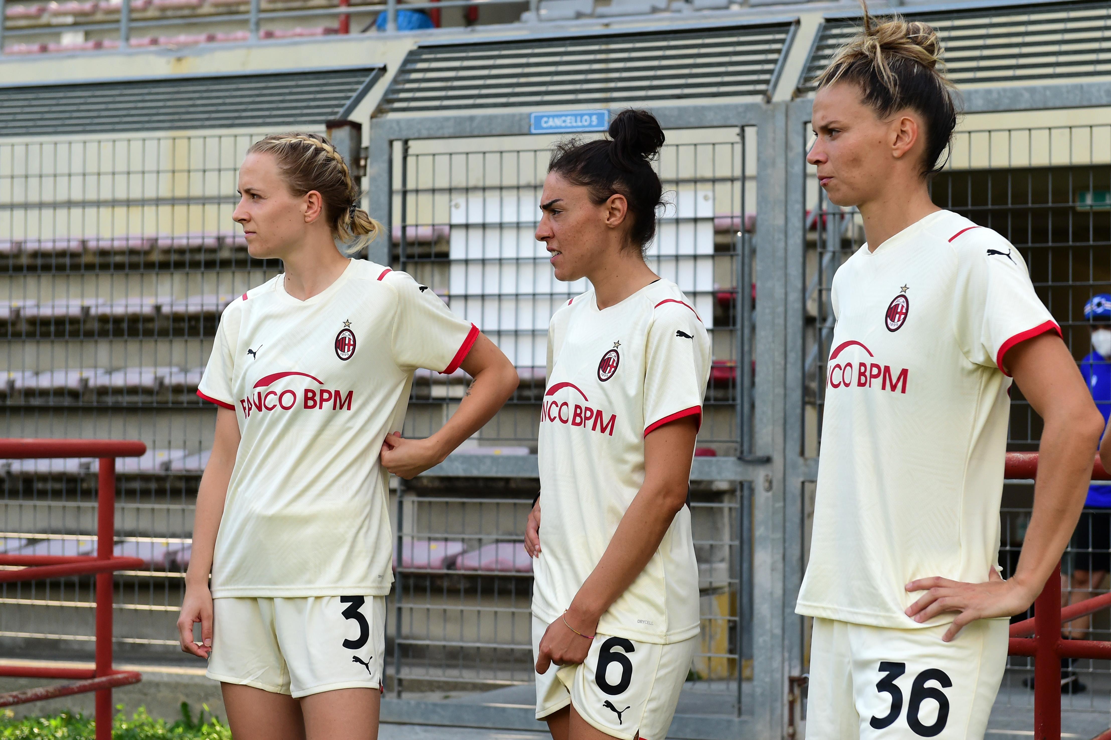 AC Milan, Sampdoria And Servette v Modena - Women Pre-Season Tournament