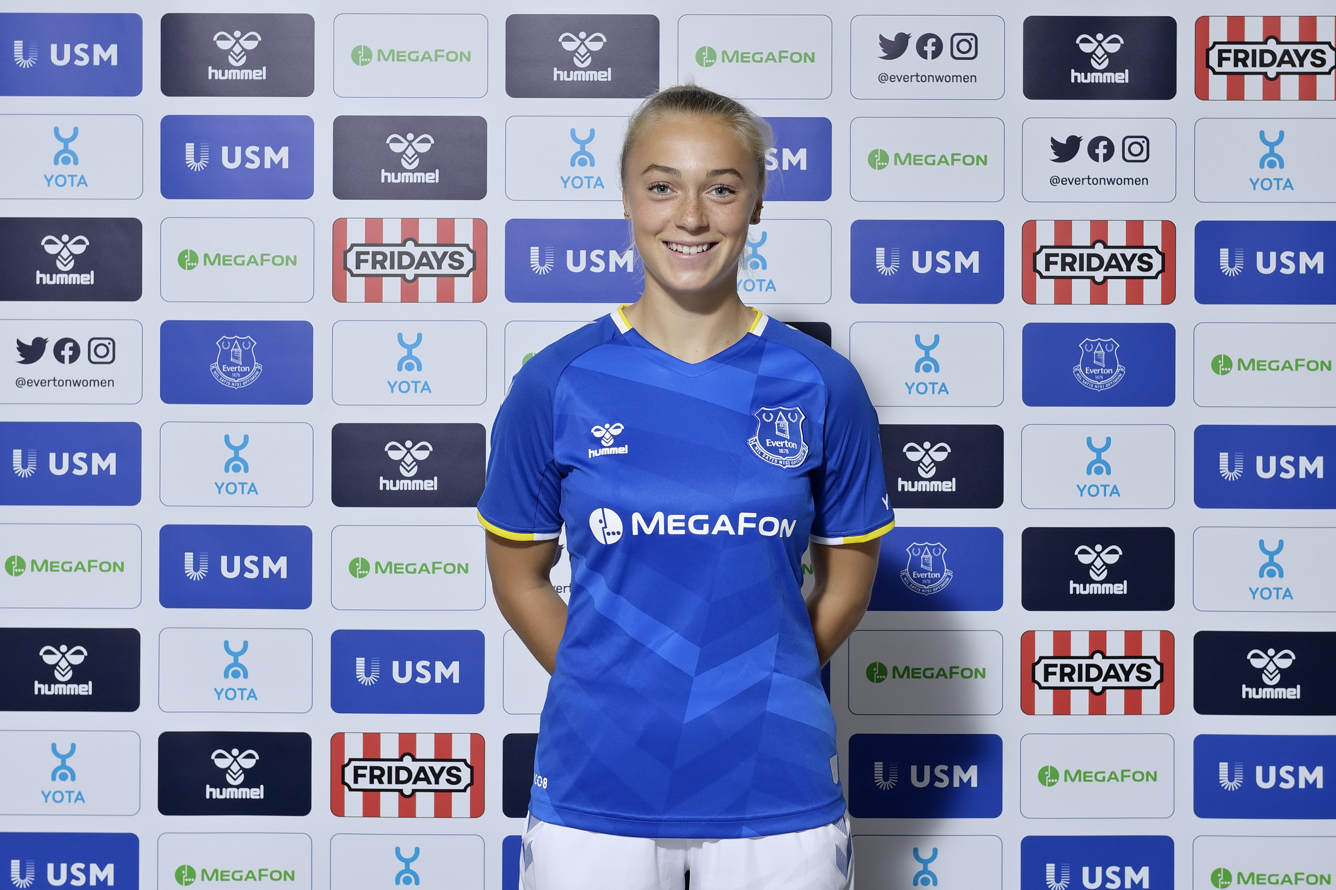 Everton Women Unveil New Signing Hanna Bennison