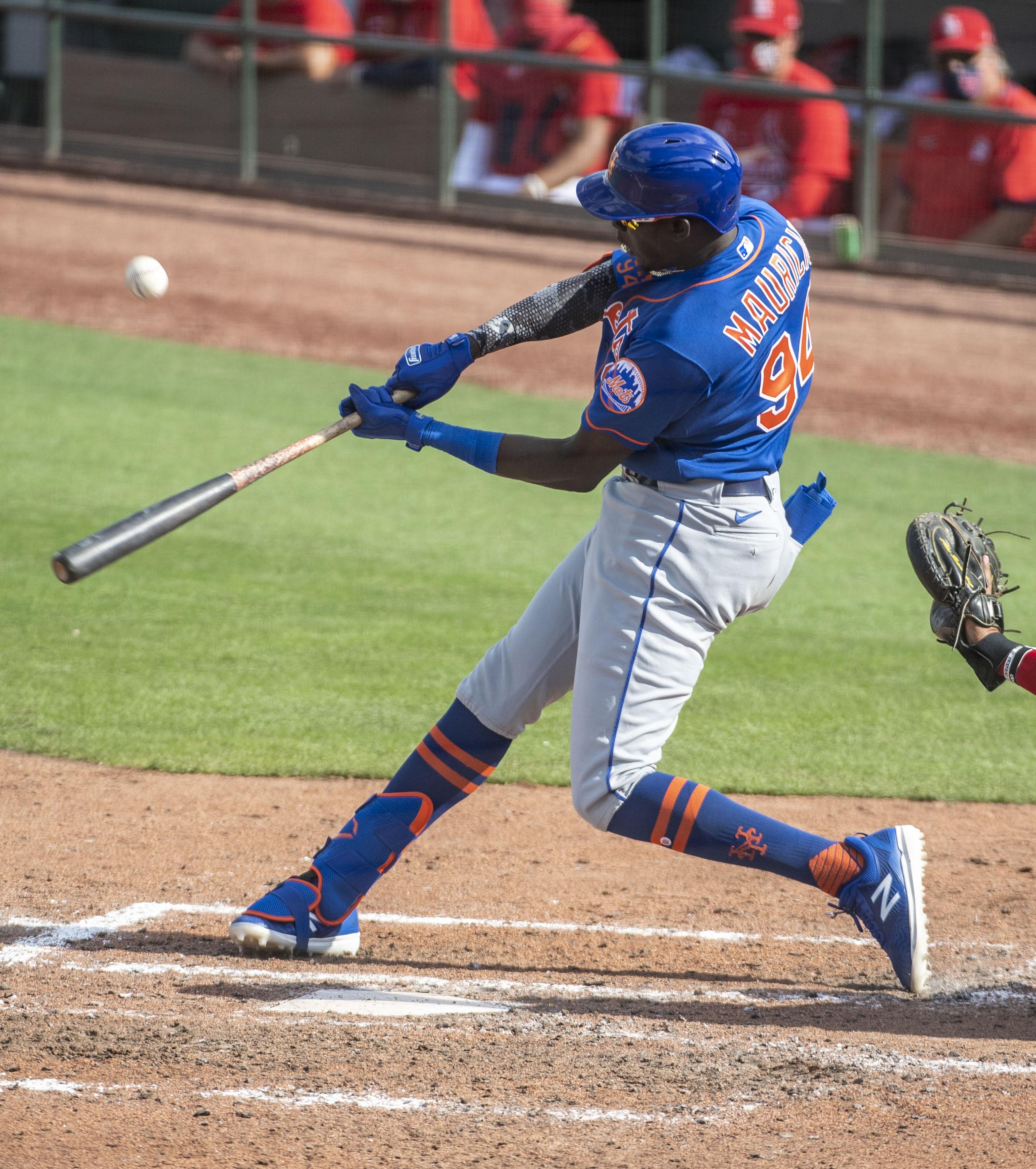 New York Mets Player Ronny Mauricio