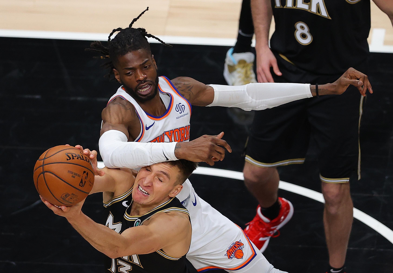 New York Knicks v Atlanta Hawks - Game Four
