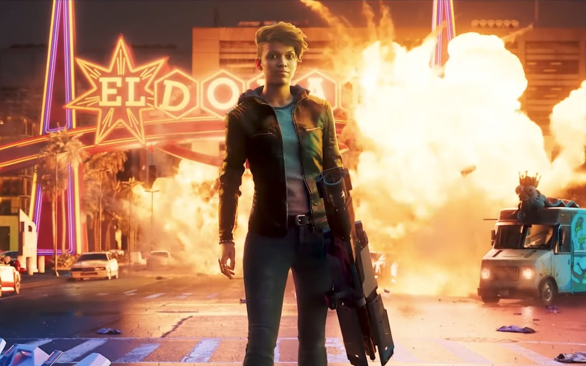 A look at Boss from the new Saints Row