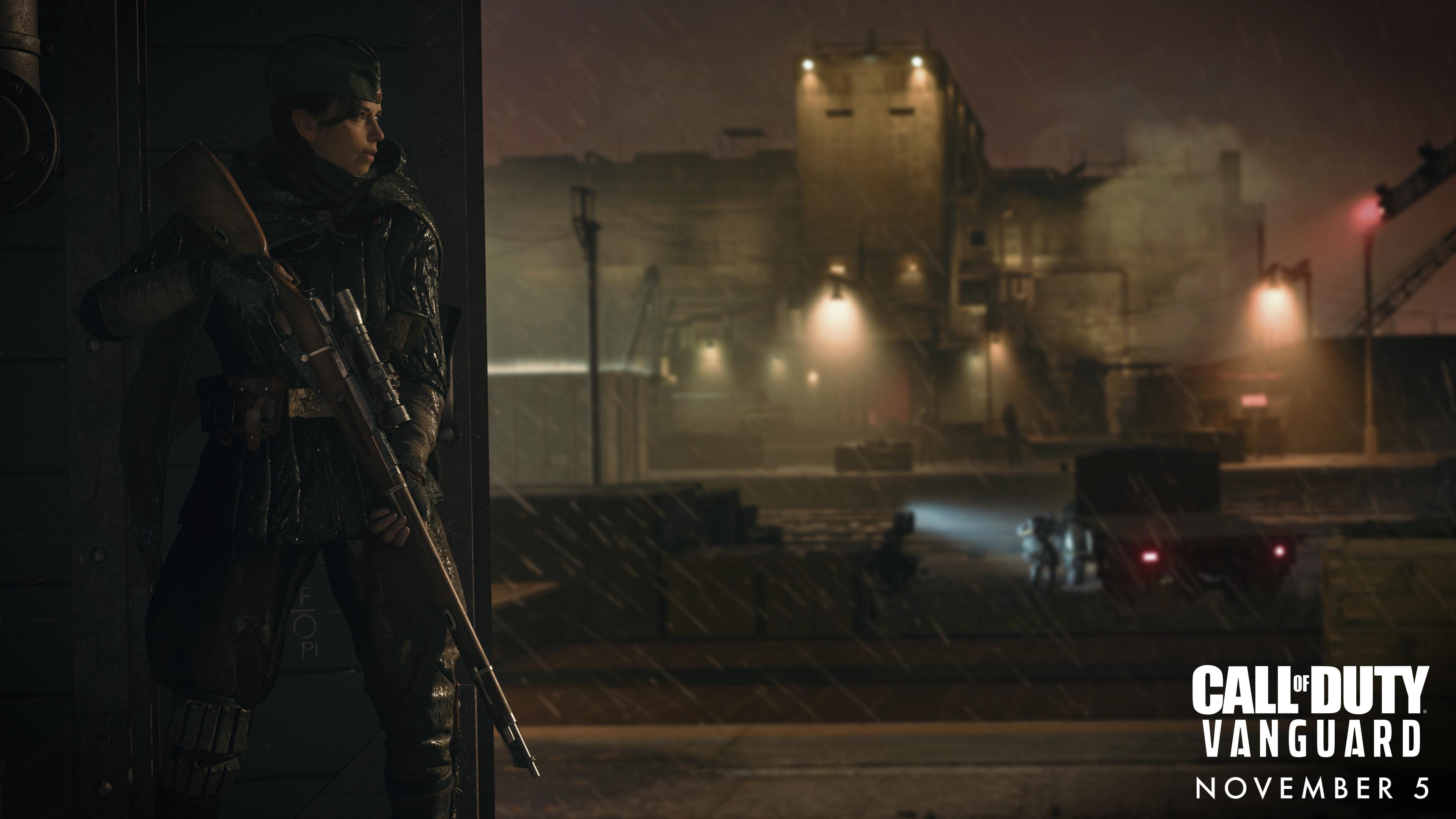 Russian sniper Polina in Call of Duty: Vanguard