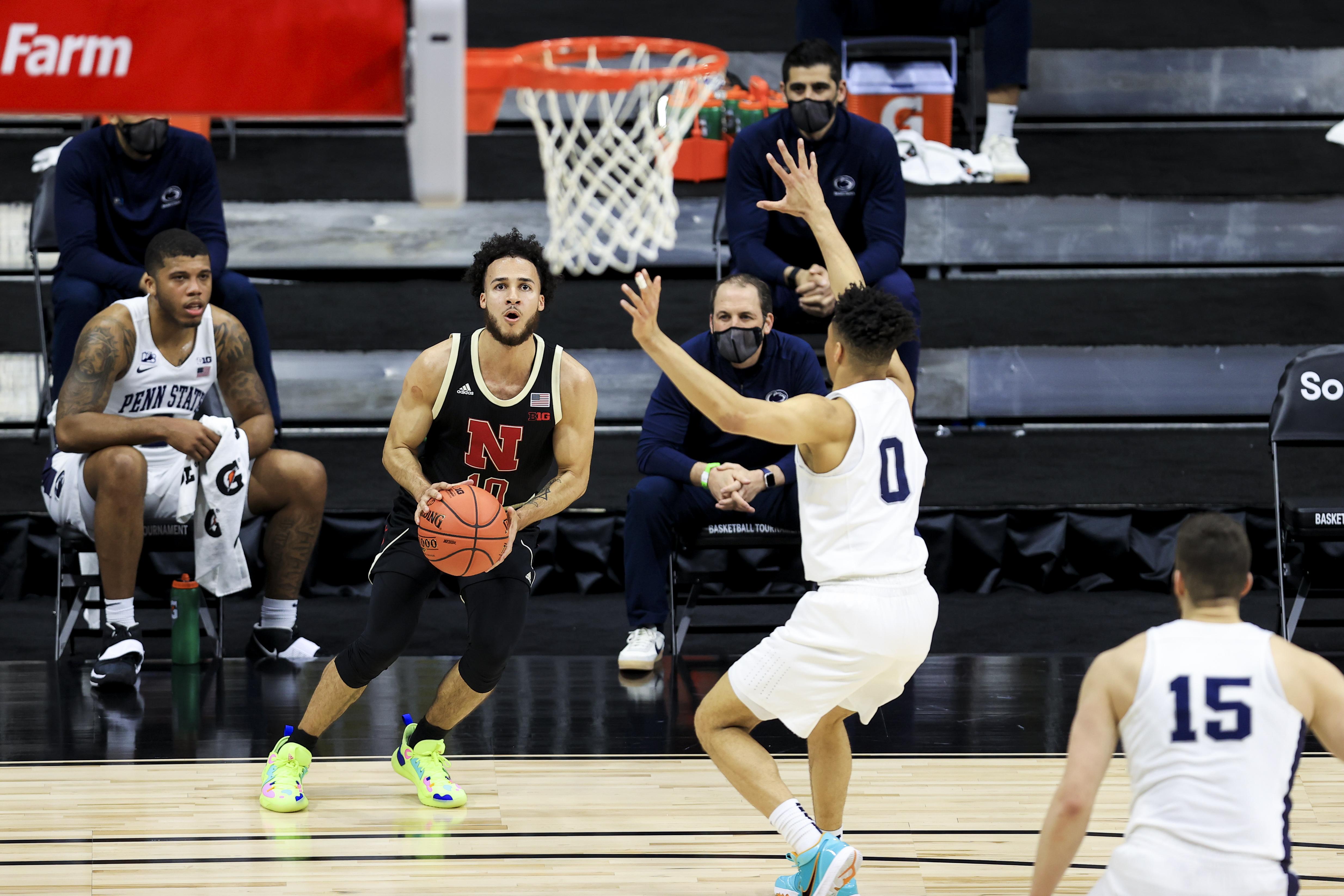 NCAA Basketball: Big Ten Conference Tournament- Nebraska vs Penn State