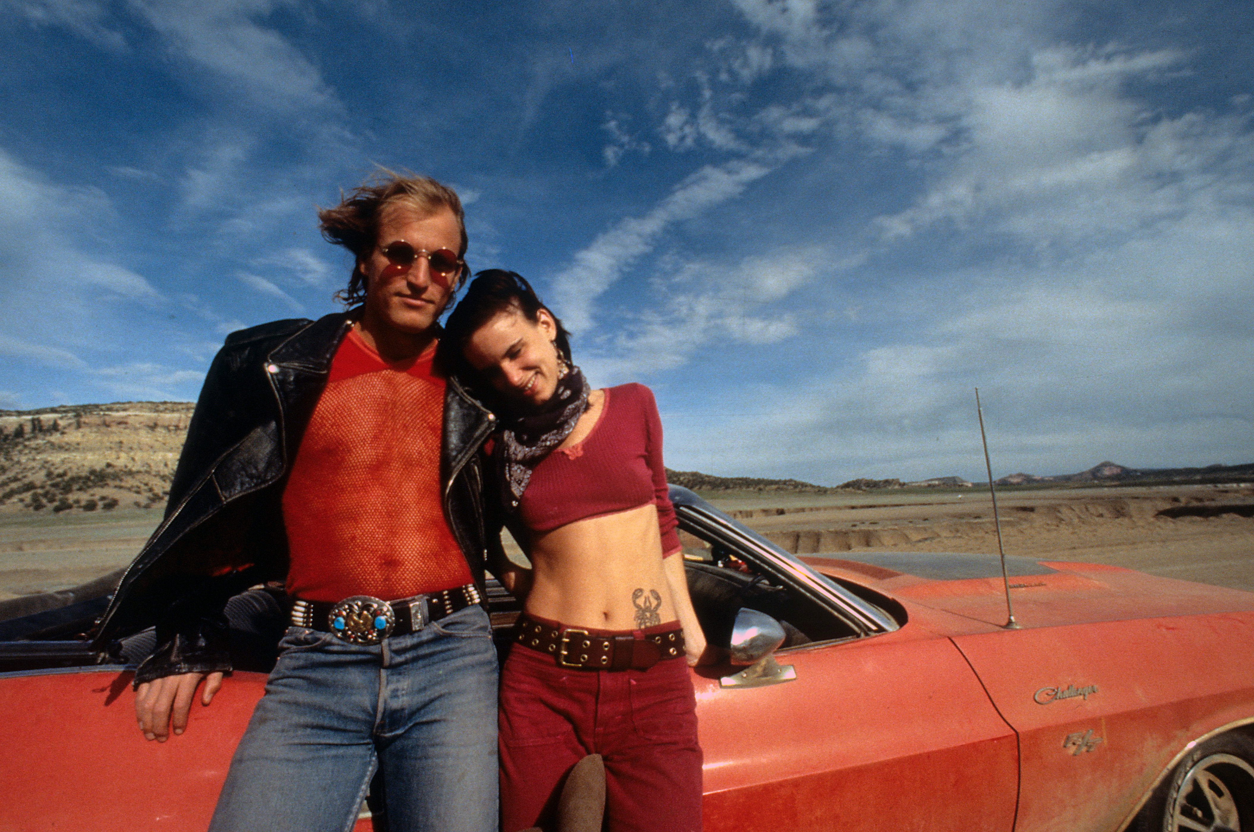 Woody Harrelson And Juliette Lewis In 'Natural Born Killers'