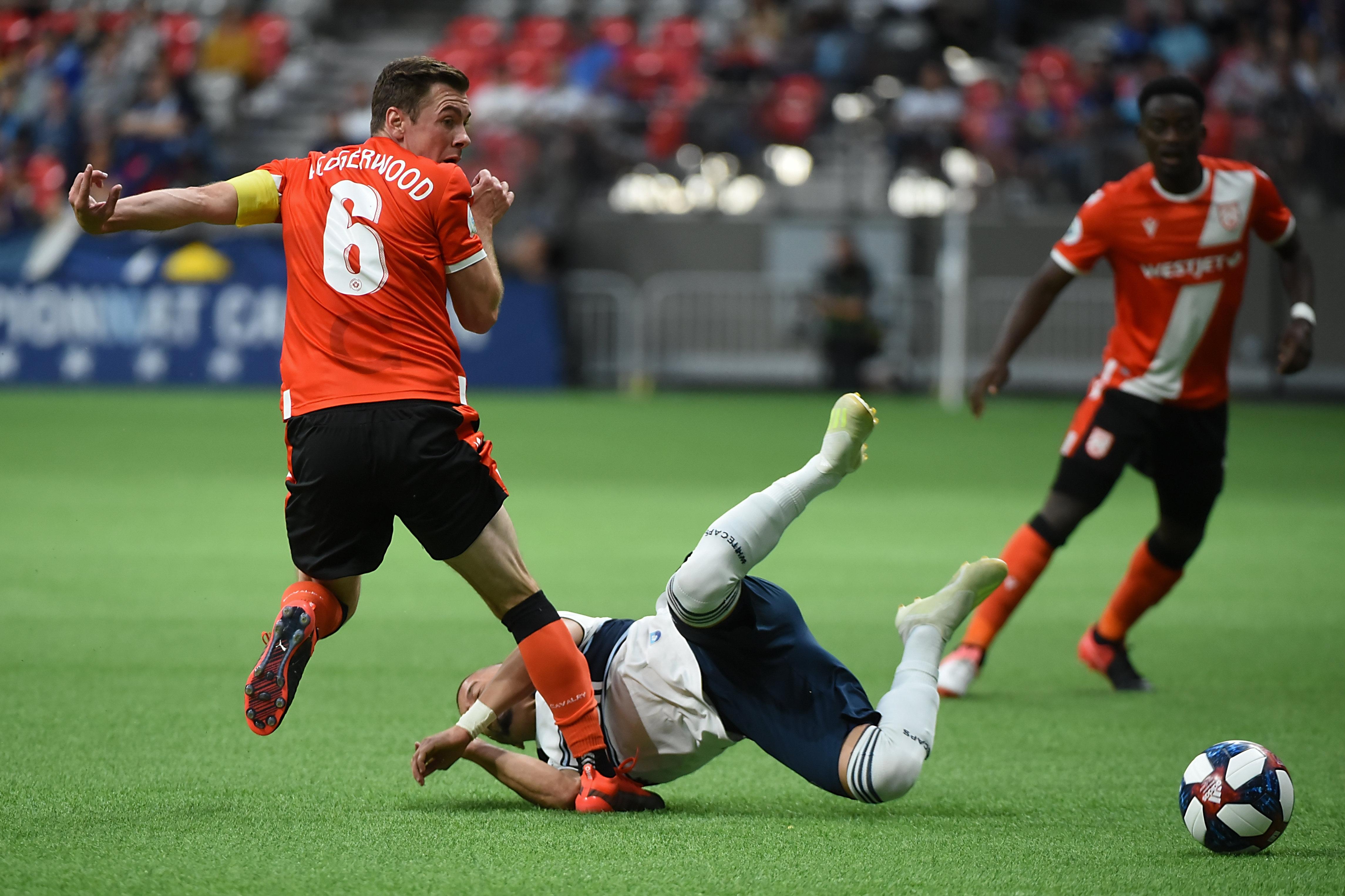 MLS: Canadian Championship-Calvary at Vancouver Whitecaps FC