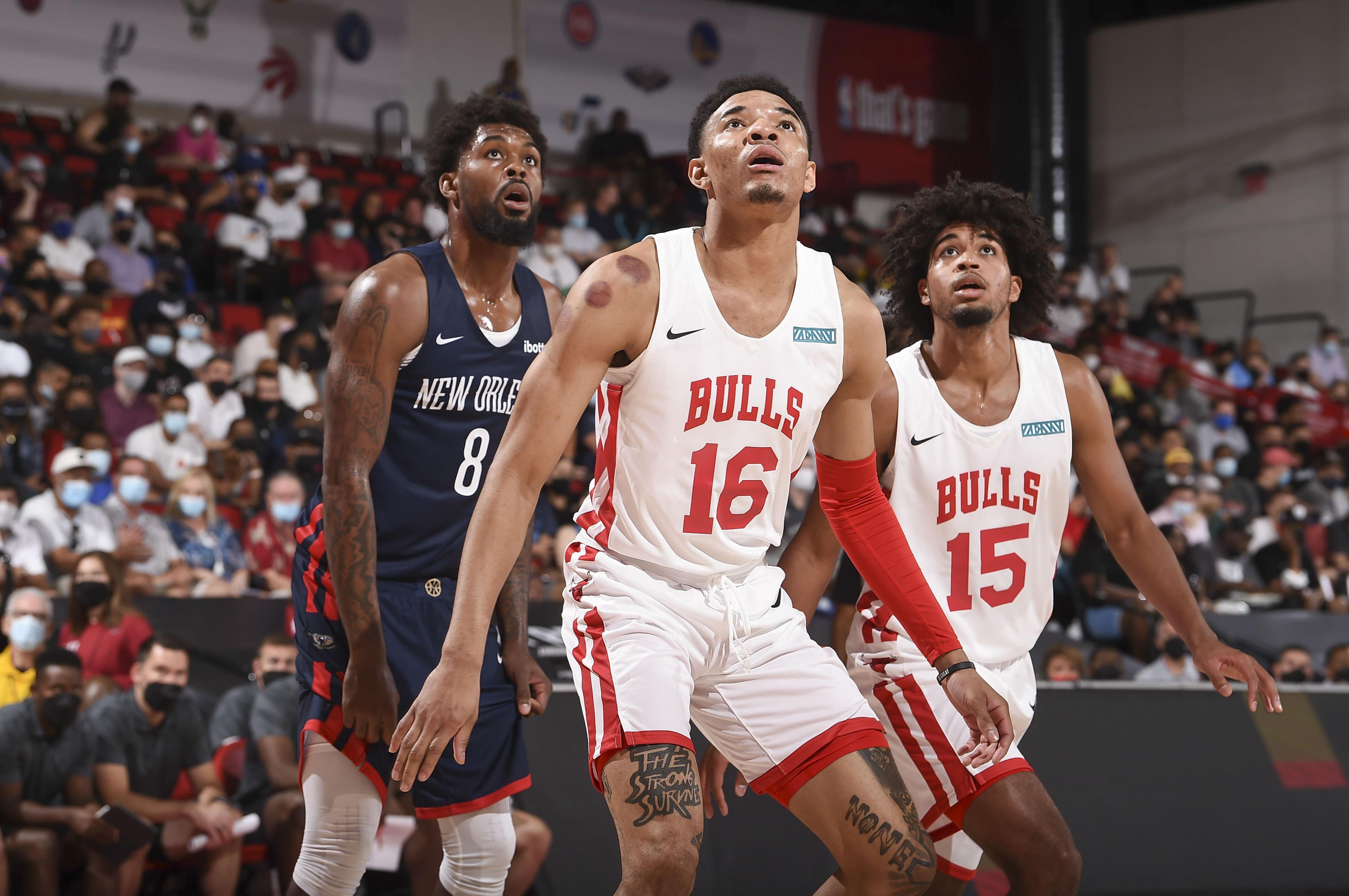 2021 Las Vegas Summer League - New Orleans Pelicans v Chicago Bulls