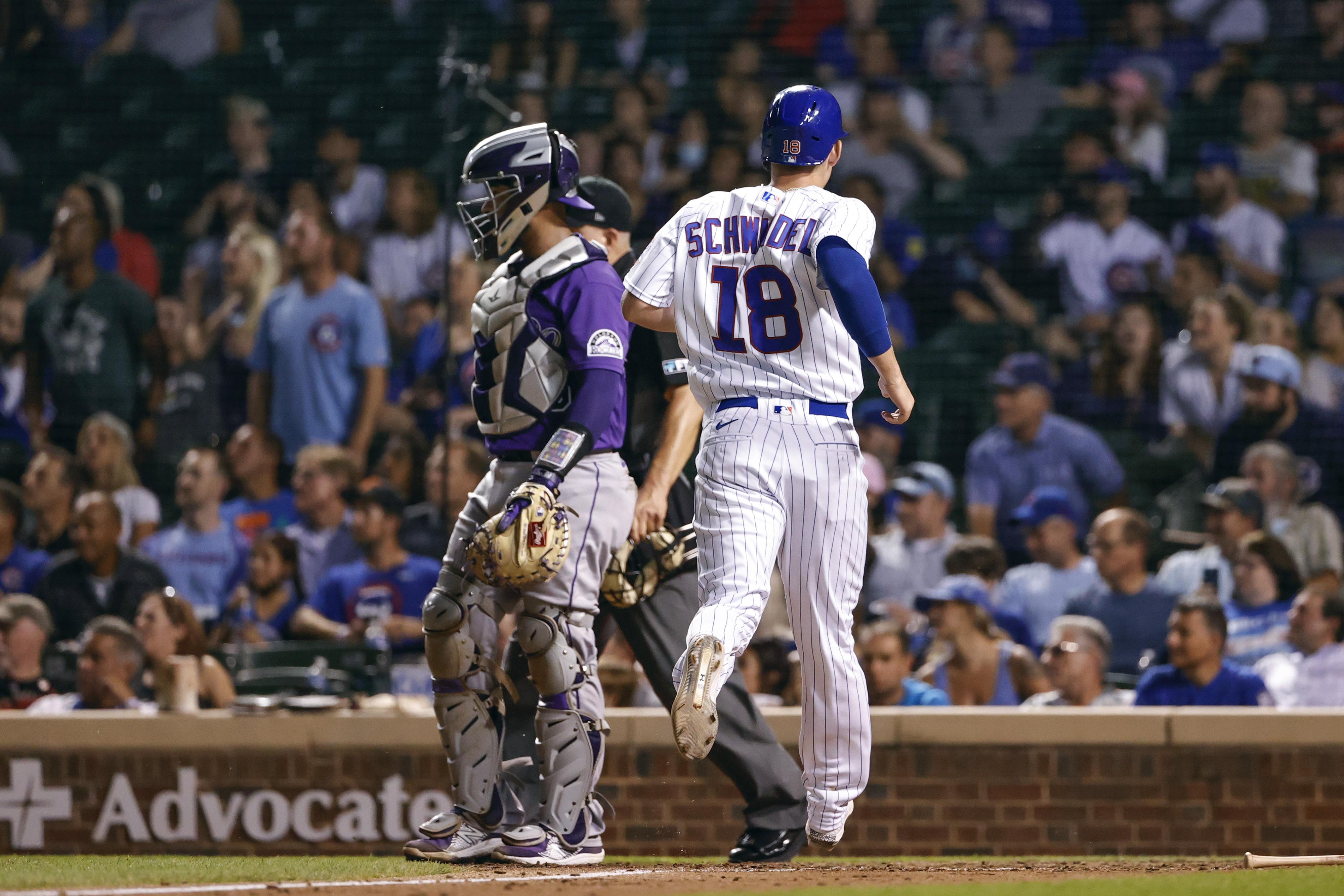 MLB: Colorado Rockies at Chicago Cubs