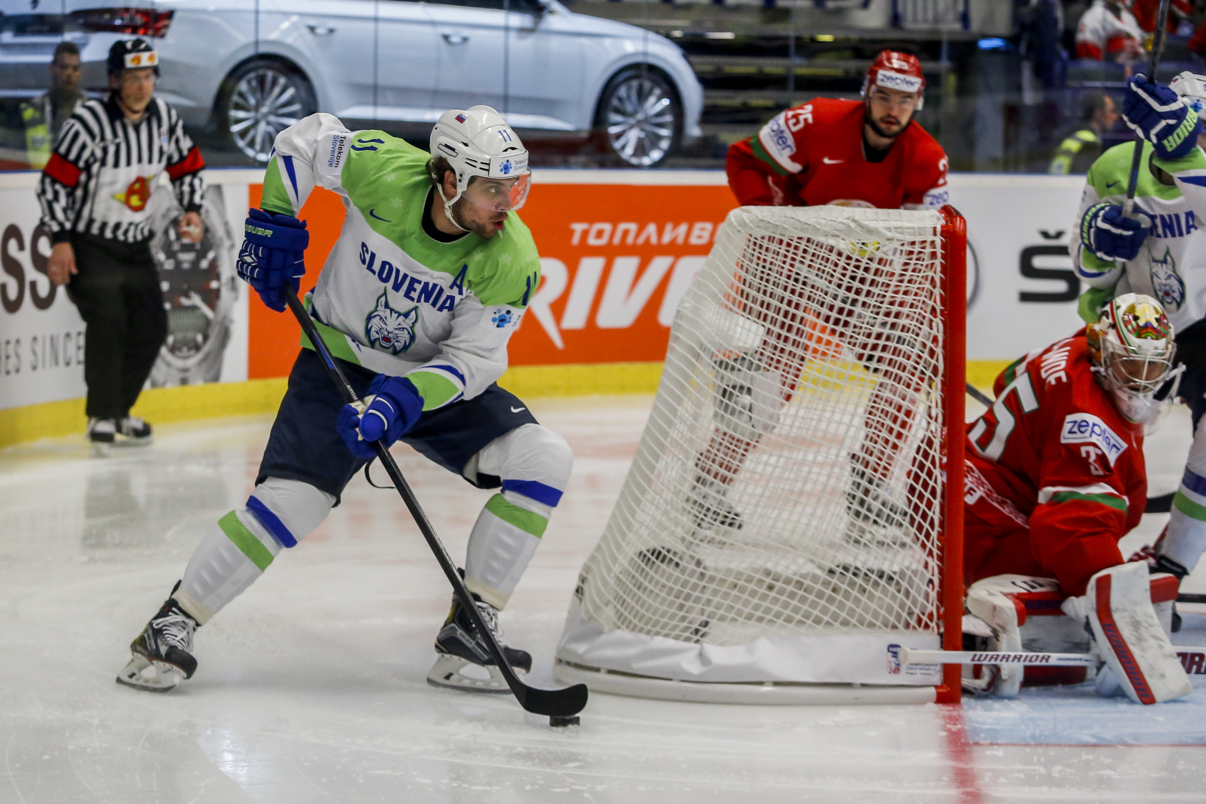Belarus v Slovenia - 2015 IIHF Ice Hockey World Championship