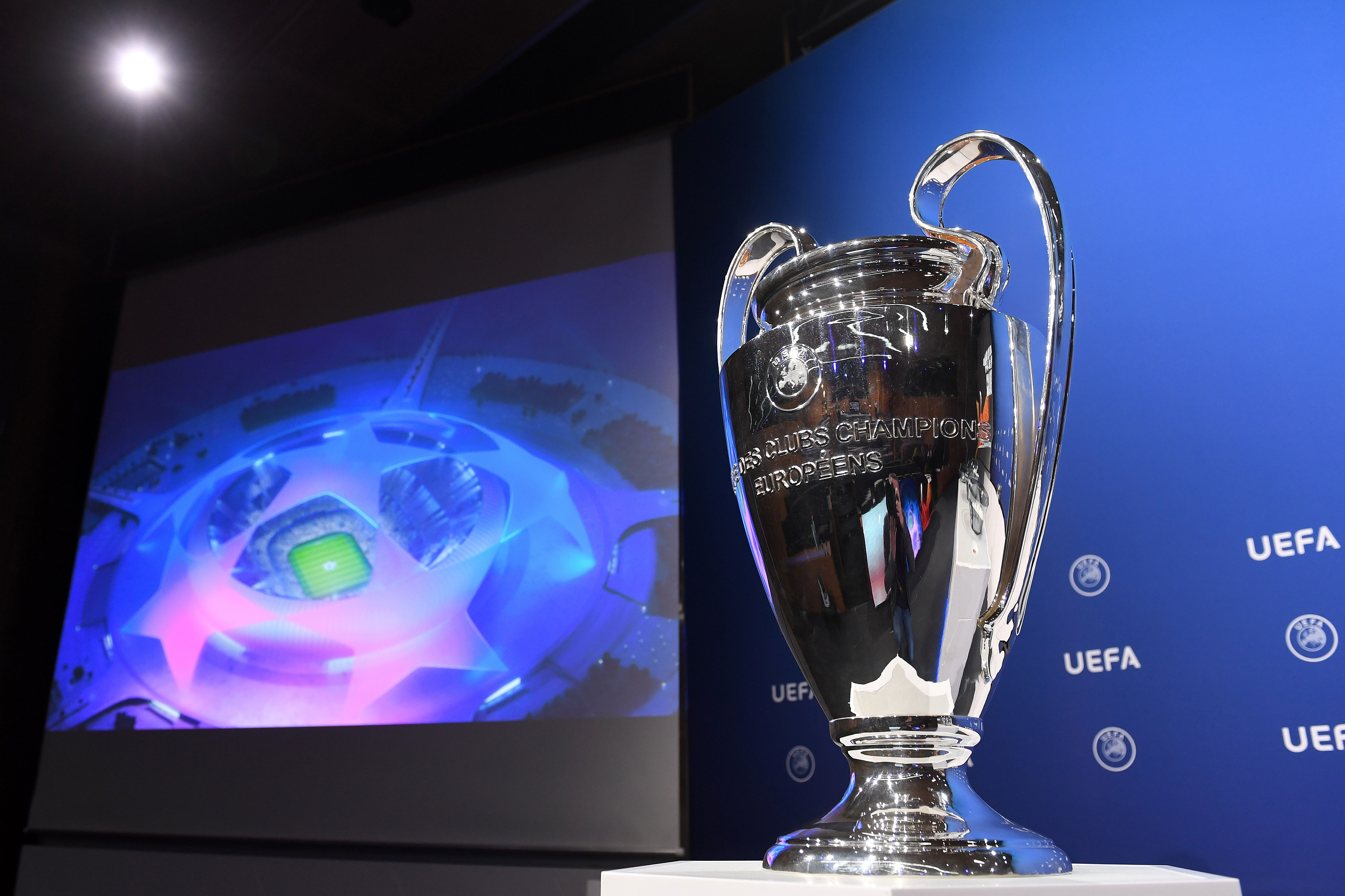 UEFA Champions League 2021/22 Play-offs Round Draw