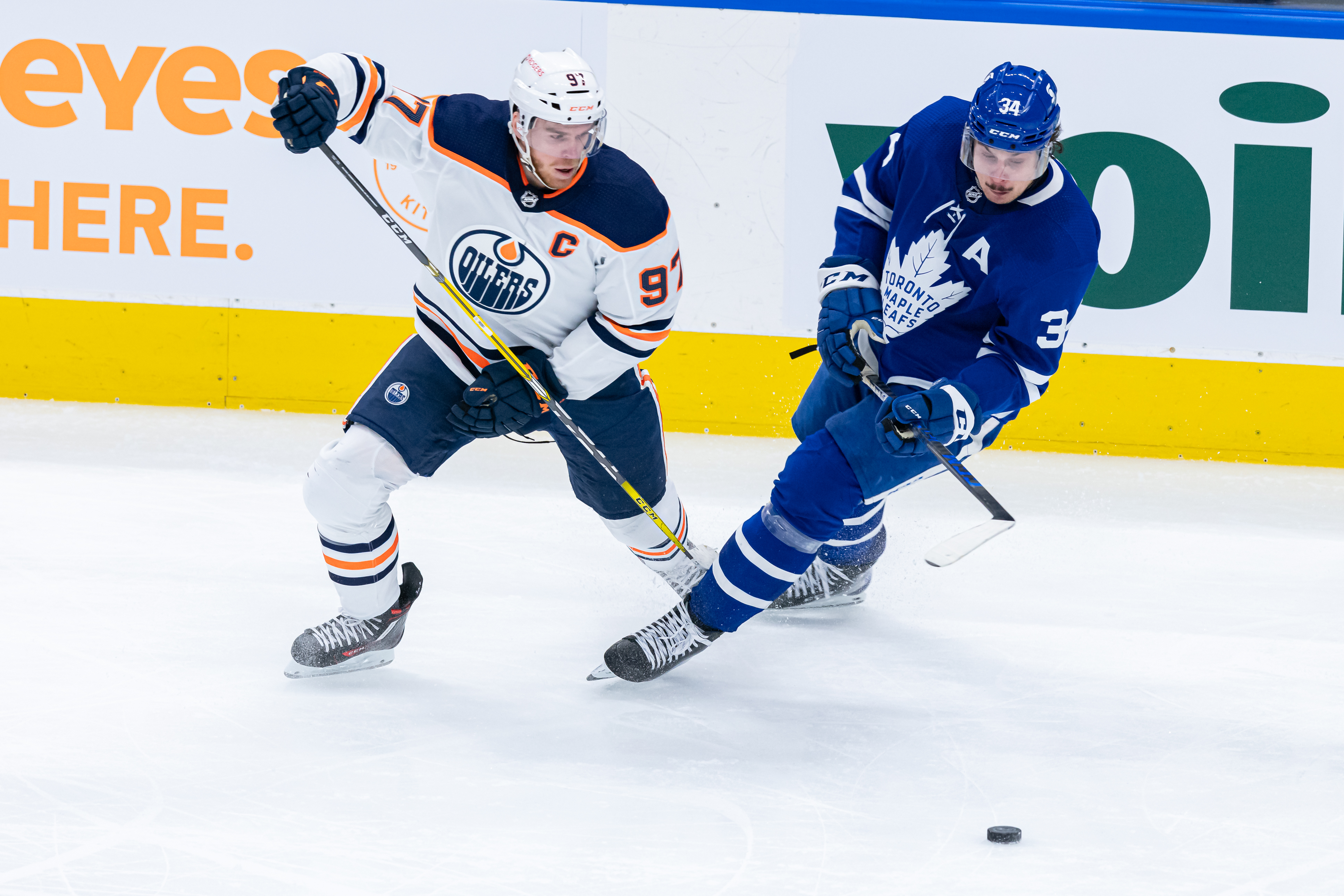 NHL: MAR 29 Oilers at Maple Leafs