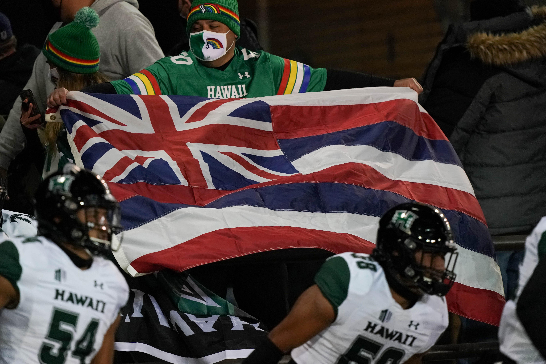 NCAA Football: Hawaii at Wyoming
