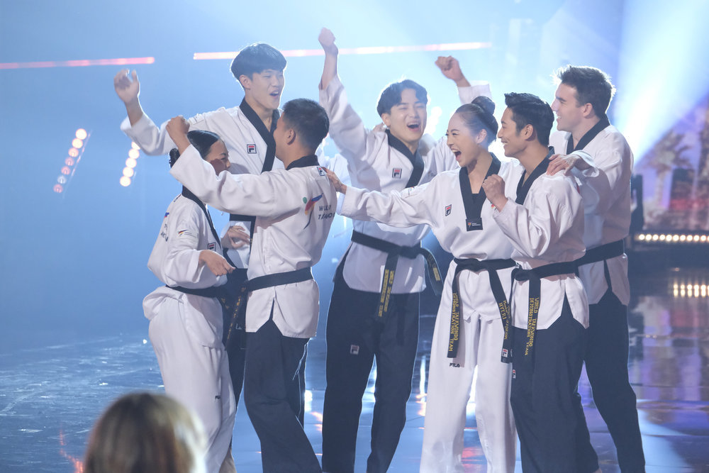 """""""America's Got Talent"""" revealed the World Taekwondo Demonstration Team would advancing to the show's semifinal round."""