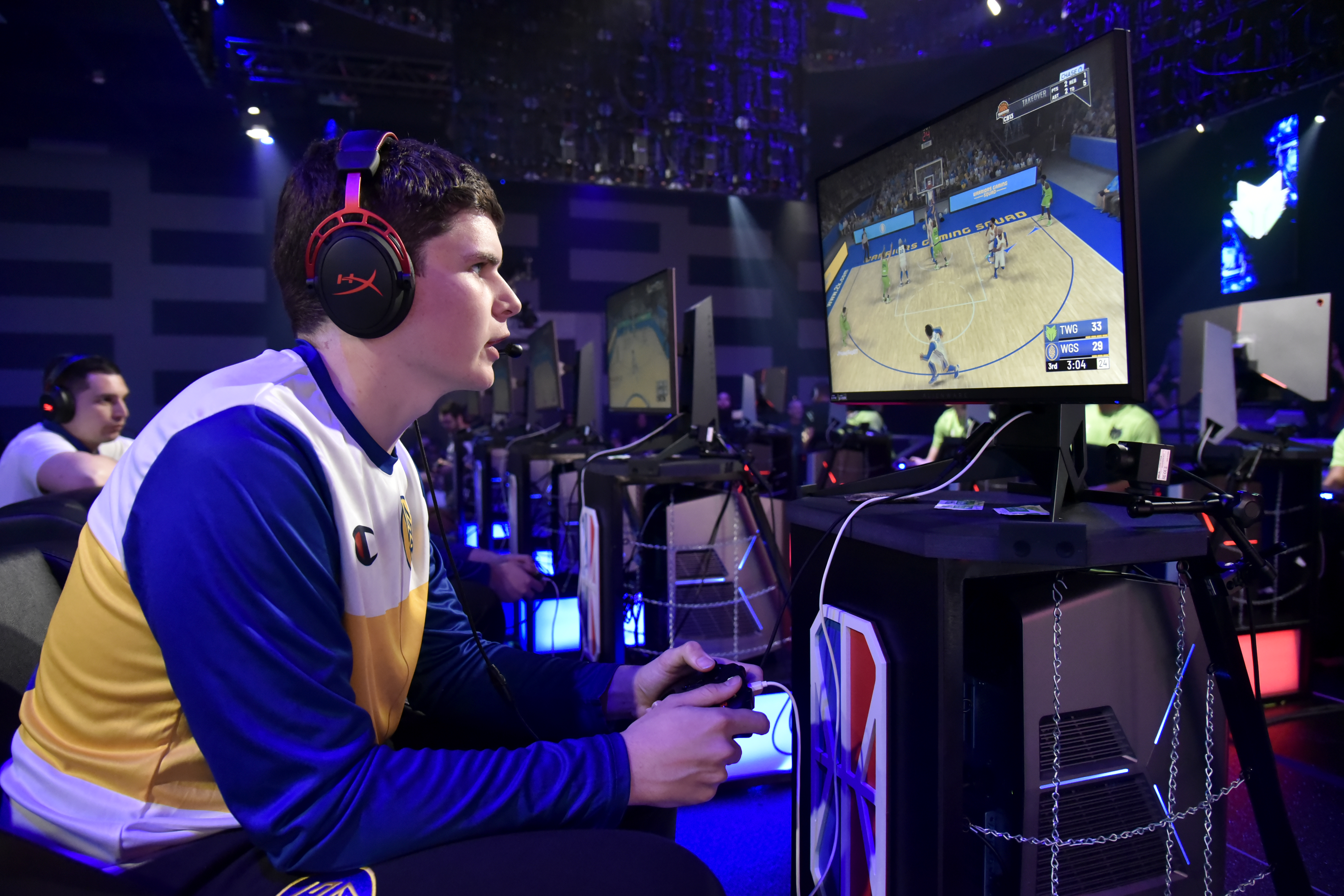 2019 NBA 2K League The Ticket Tournament - T-Wolves Gaming v Warriors Gaming Squad