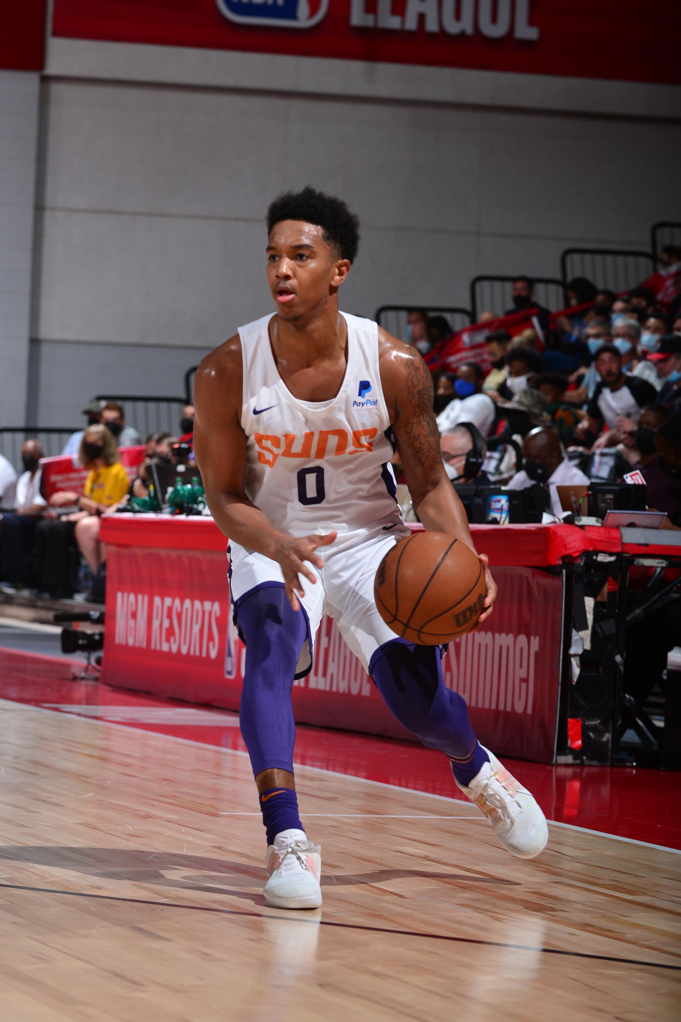 2021 Las Vegas Summer League - Portland Tralblazers v Phoenix Suns