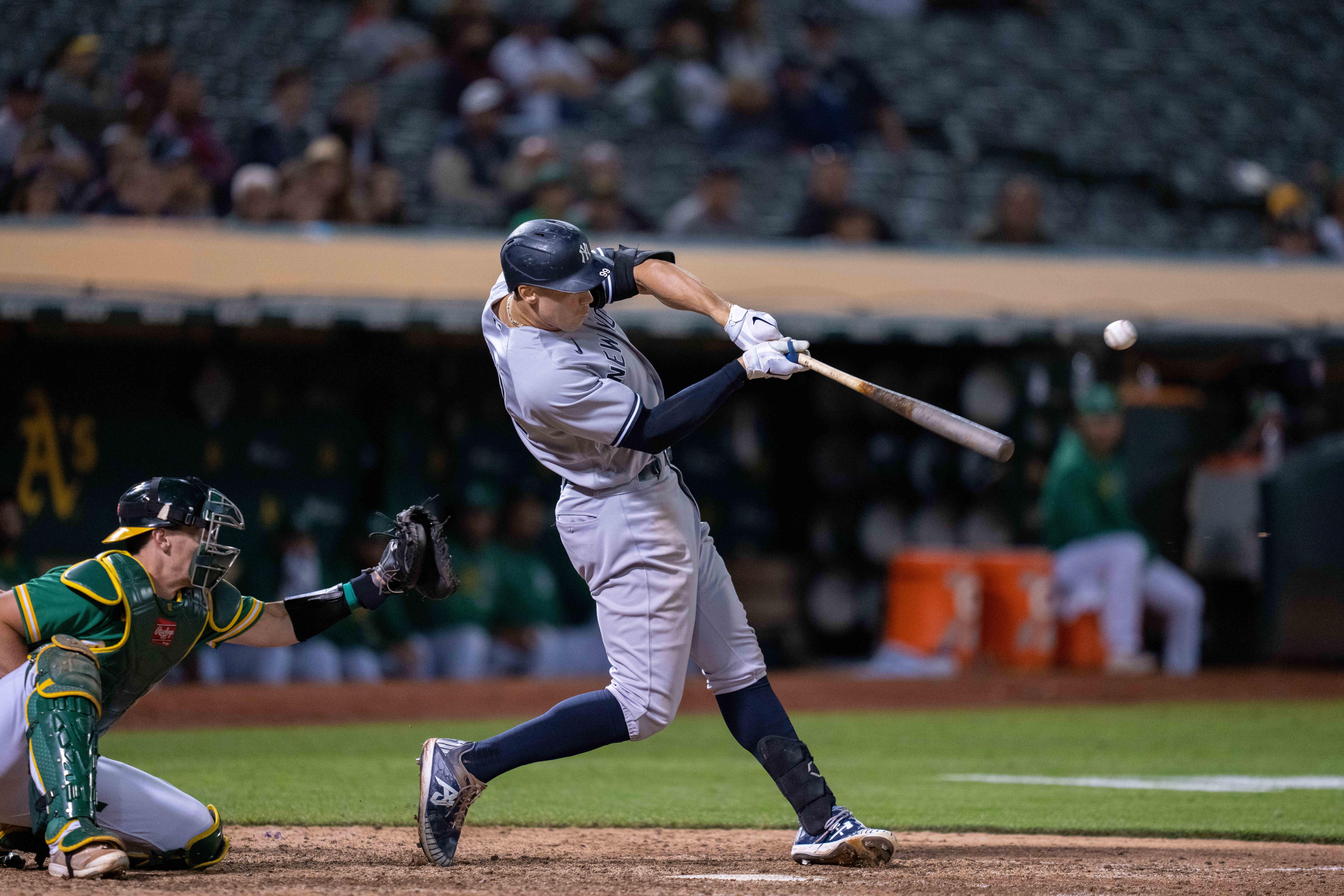 MLB: New York Yankees at Oakland Athletics