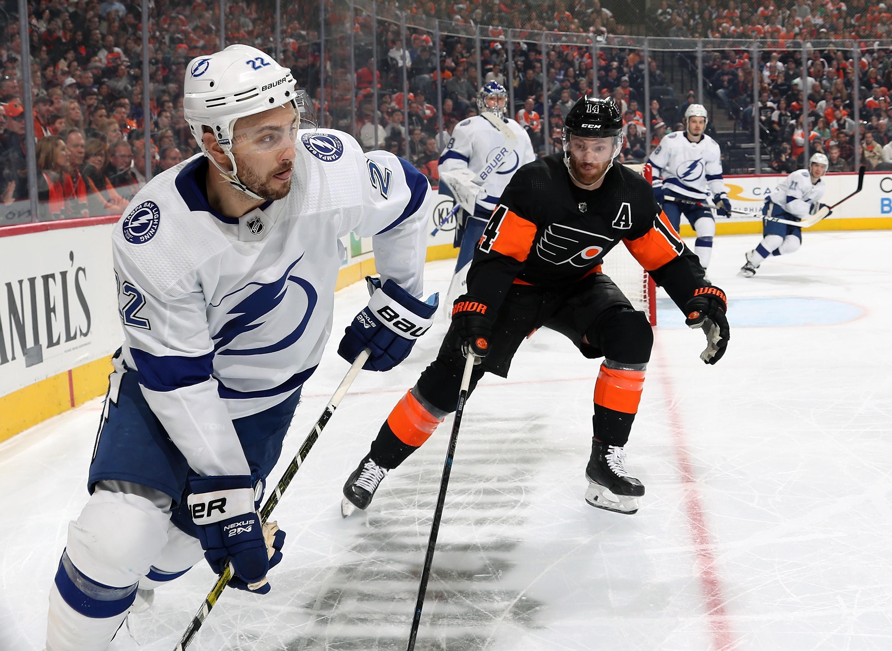 Tampa Bay Lightning v Philadelphia Flyers