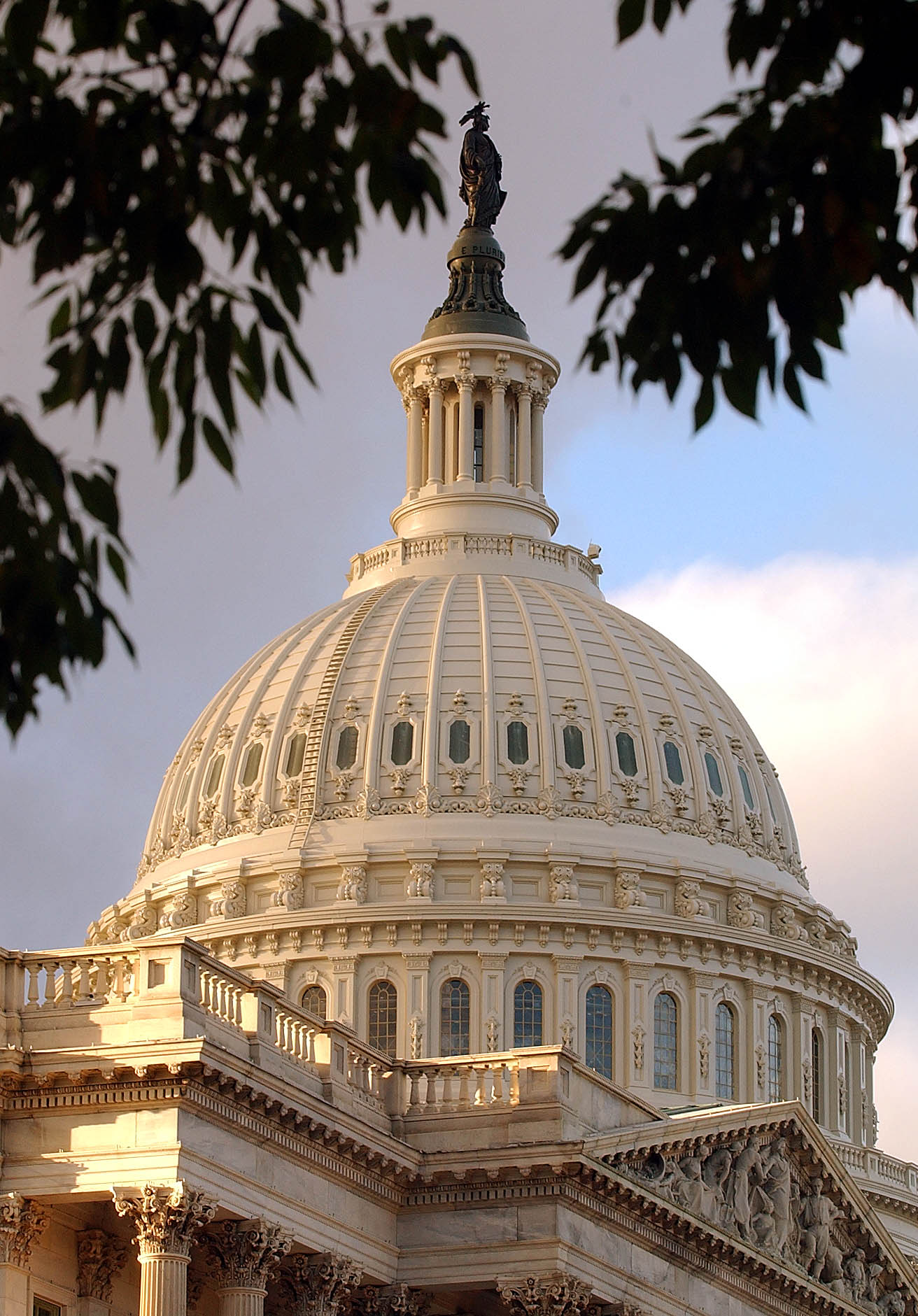 The U.S. Capitol Building in Washington, as seen in an Oct 17th, 2002 photo. Some experts believe Republicans may win control of the House again in the 2022 midterm elections.