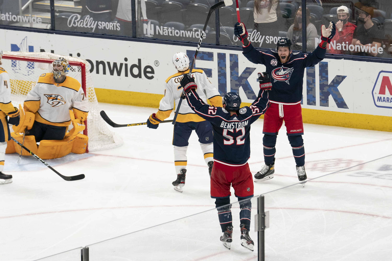 NHL: MAY 03 Predators at Blue Jackets