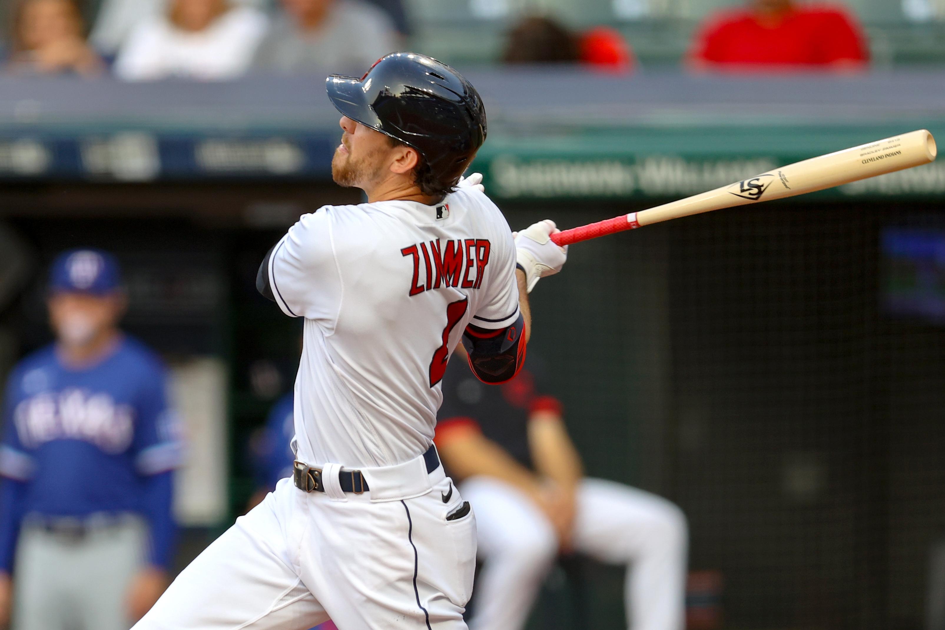 MLB: AUG 26 Rangers at Indians