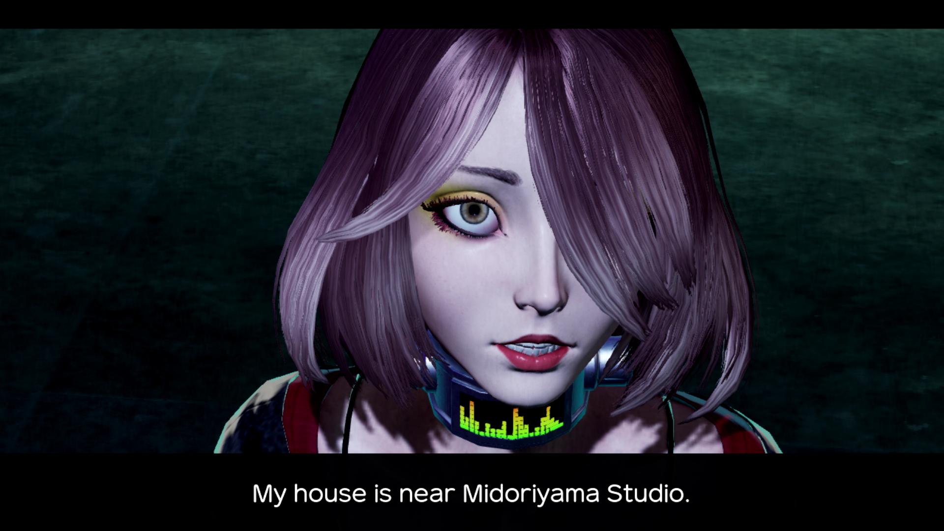 Midori Midorikawa from No More Heroes 3