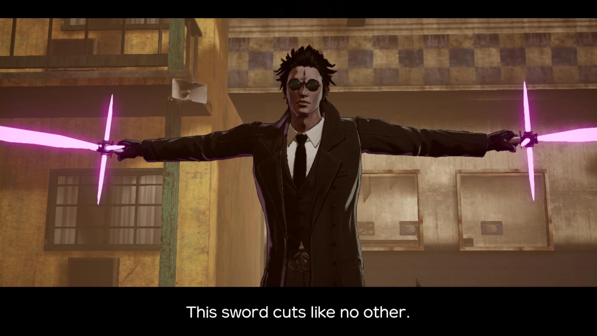 The boss battle against Henry in No More Heroes 3