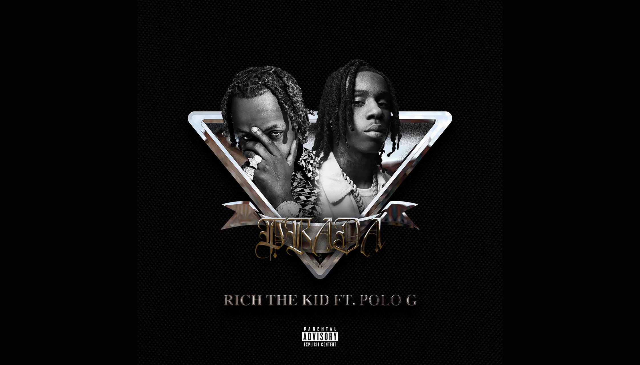 "Rich The Kid's ""Prada (Remix)"" artwork"